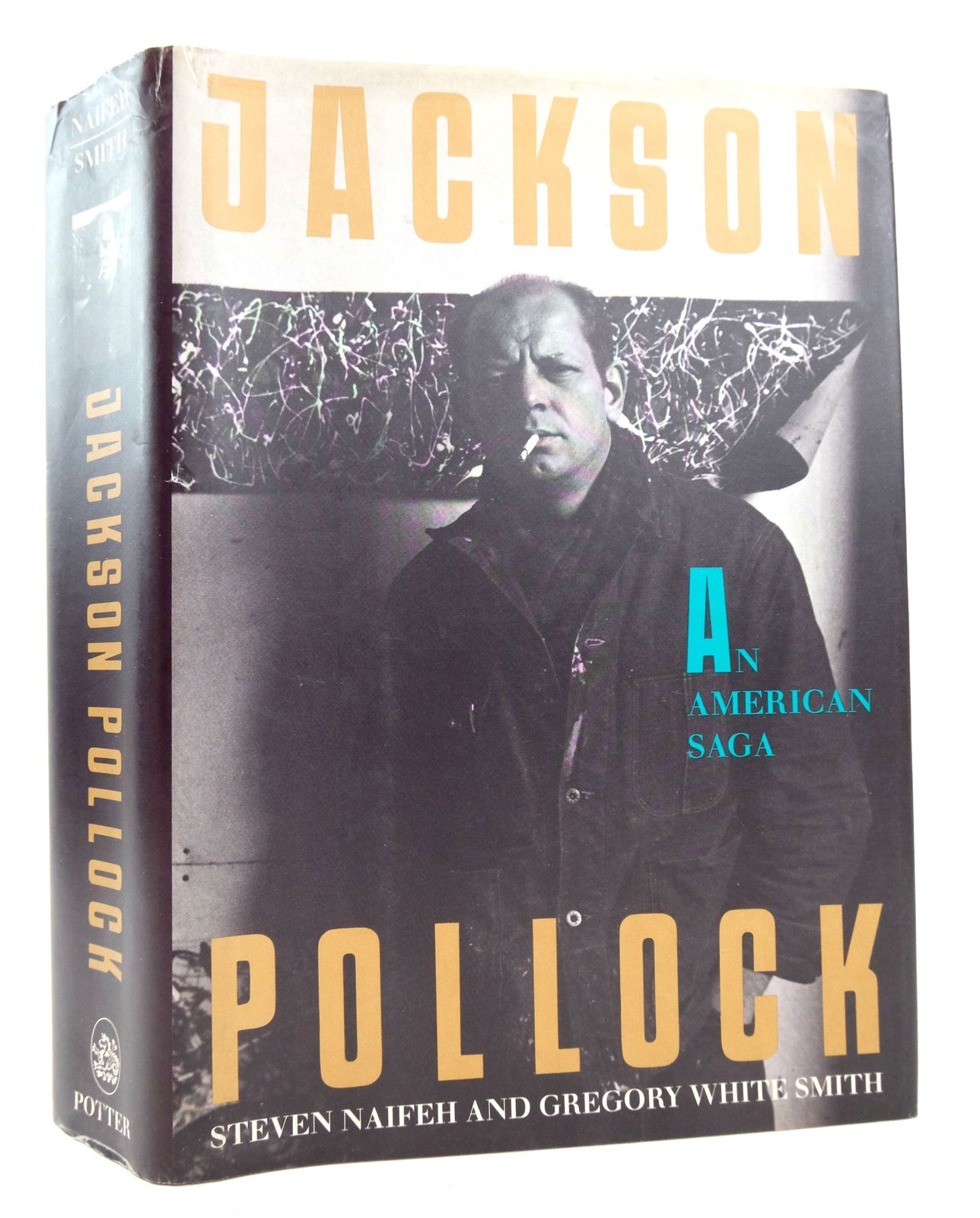 Photo of JACKSON POLLOCK: AN AMERICAN SAGA written by Naifeh, Steven Smith, Gregory White published by Clarkson N. Potter Inc. (STOCK CODE: 1819310)  for sale by Stella & Rose's Books