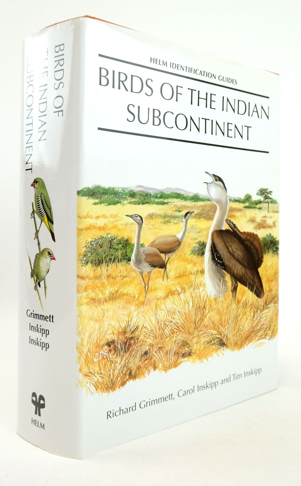 Photo of BIRDS OF THE INDIAN SUBCONTINENT (HELM IDENTIFICATION GUIDES)- Stock Number: 1819318