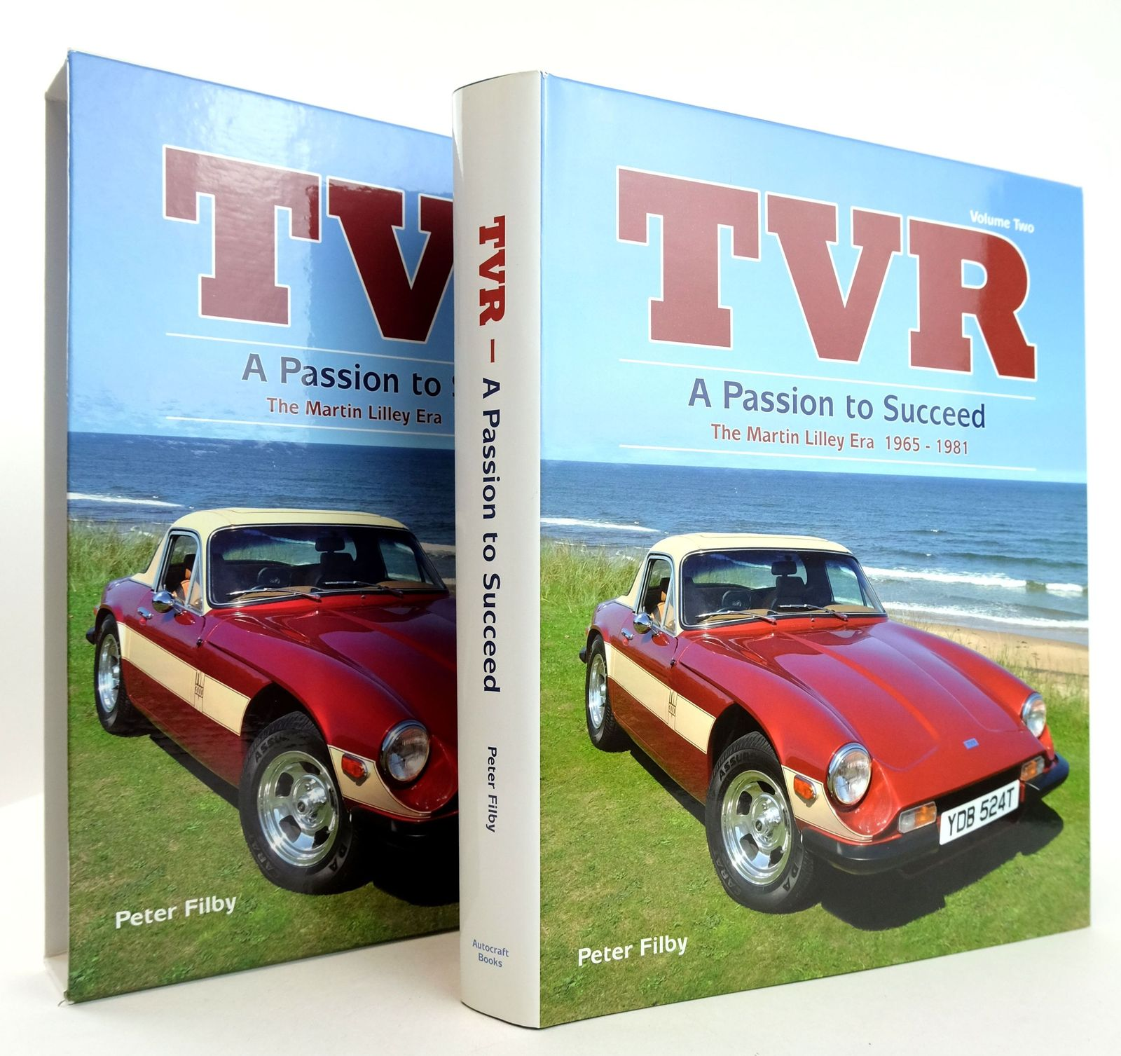 Photo of TVR VOLUME TWO: A PASSION TO SUCCEED THE MARTIN LILLEY ERA 1965-1981 written by Filby, Peter published by Autocraft Books (STOCK CODE: 1819331)  for sale by Stella & Rose's Books