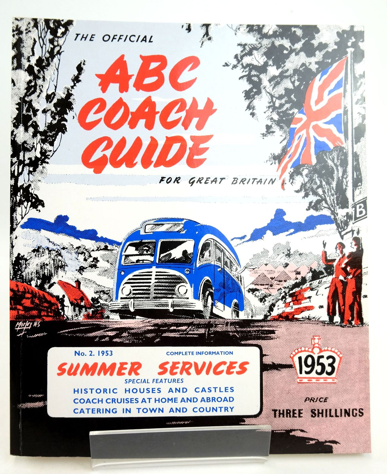 Photo of THE OFFICIAL ABC COACH GUIDE FOR GREAT BRITAIN No. 2, 1953 SUMMER SERVICES published by Tempest Associates Limited (STOCK CODE: 1819334)  for sale by Stella & Rose's Books