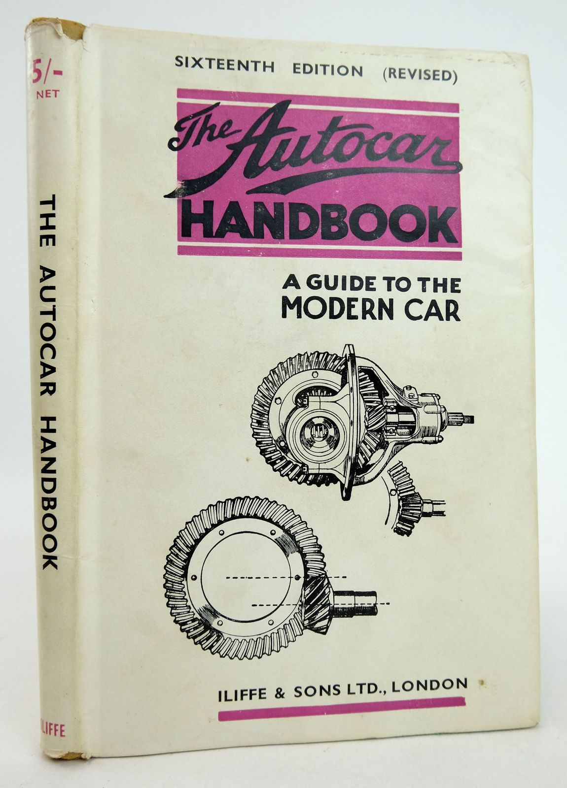 Photo of THE AUTOCAR HANDBOOK: A GUIDE TO THE MODERN CAR- Stock Number: 1819376
