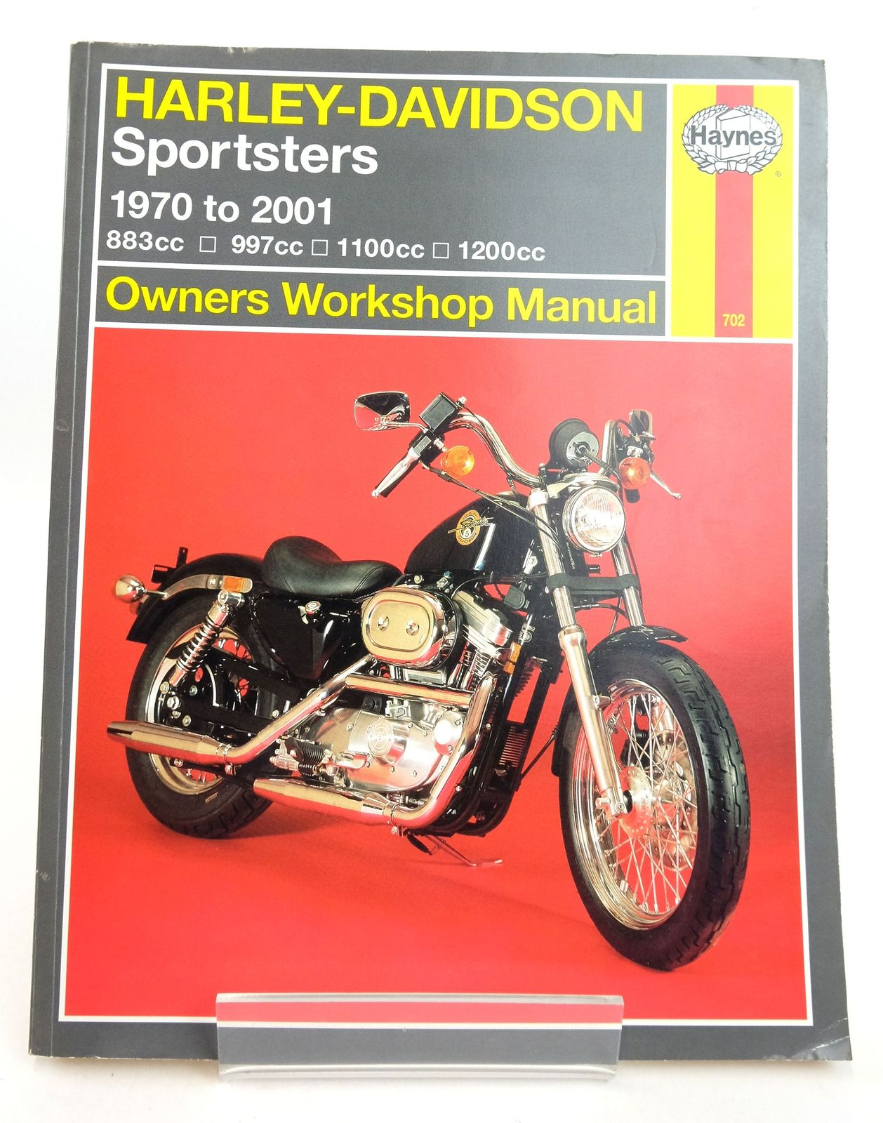Photo of HARLEY-DAVIDSON SPORTSTERS OWNERS WORKSHOP MANUAL- Stock Number: 1819382