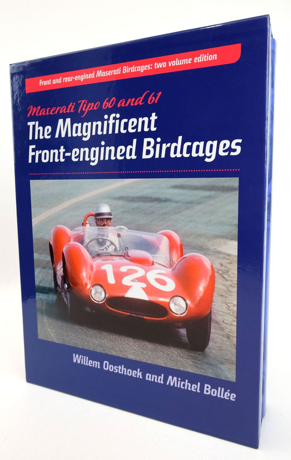 Photo of MASERATI TIPO 60 AND 61; MASERATI TIPO 63.64.65 (TWO VOLUMES)- Stock Number: 1819398