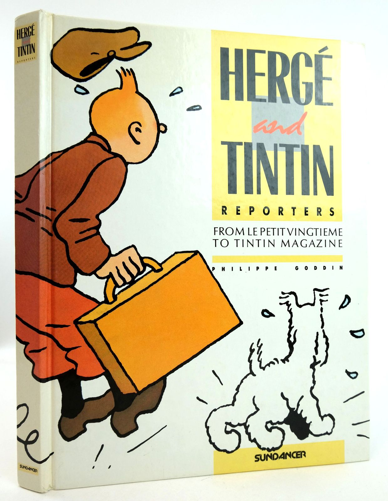 Photo of HERGE AND TINTIN REPORTERS written by Herge, Goddin, Philippe Farr, Michael illustrated by Herge,  published by Sundancer Ltd. (STOCK CODE: 1819412)  for sale by Stella & Rose's Books