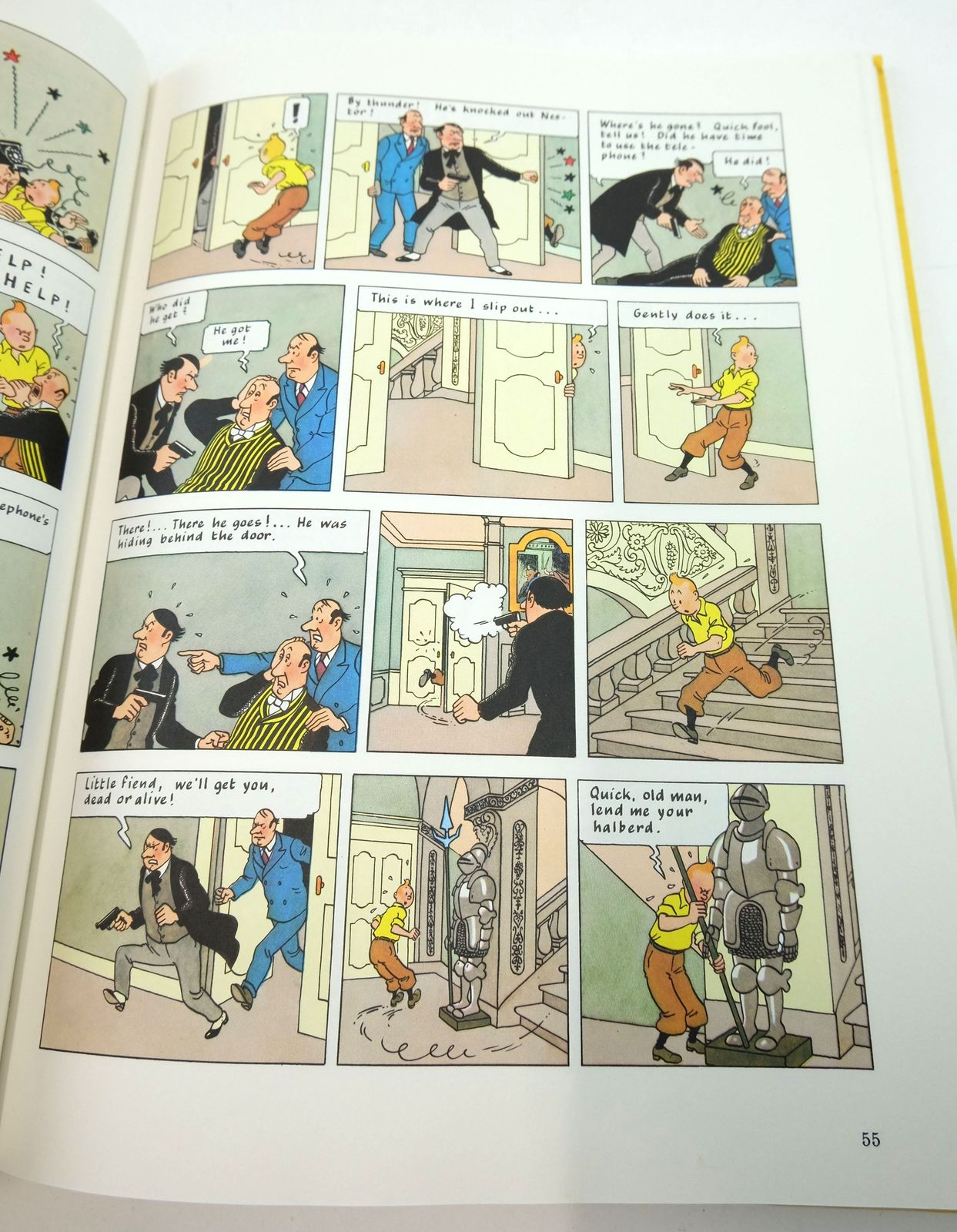 Photo of THE MAKING OF TINTIN written by Herge,  Peeters, Benoit Lonsdale-Cooper, Leslie illustrated by Herge,  published by Methuen Children's Books Ltd. (STOCK CODE: 1819413)  for sale by Stella & Rose's Books