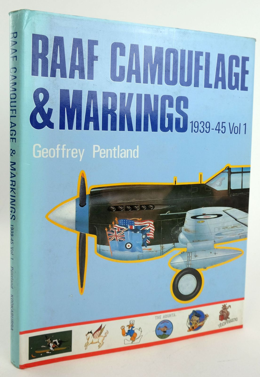 Photo of RAAF CAMOUFLAGE & MARKINGS 1939-45 VOL 1 written by Pentland, Geoffrey illustrated by Pentland, Geoffrey published by Kookaburra Technical Publications (STOCK CODE: 1819435)  for sale by Stella & Rose's Books