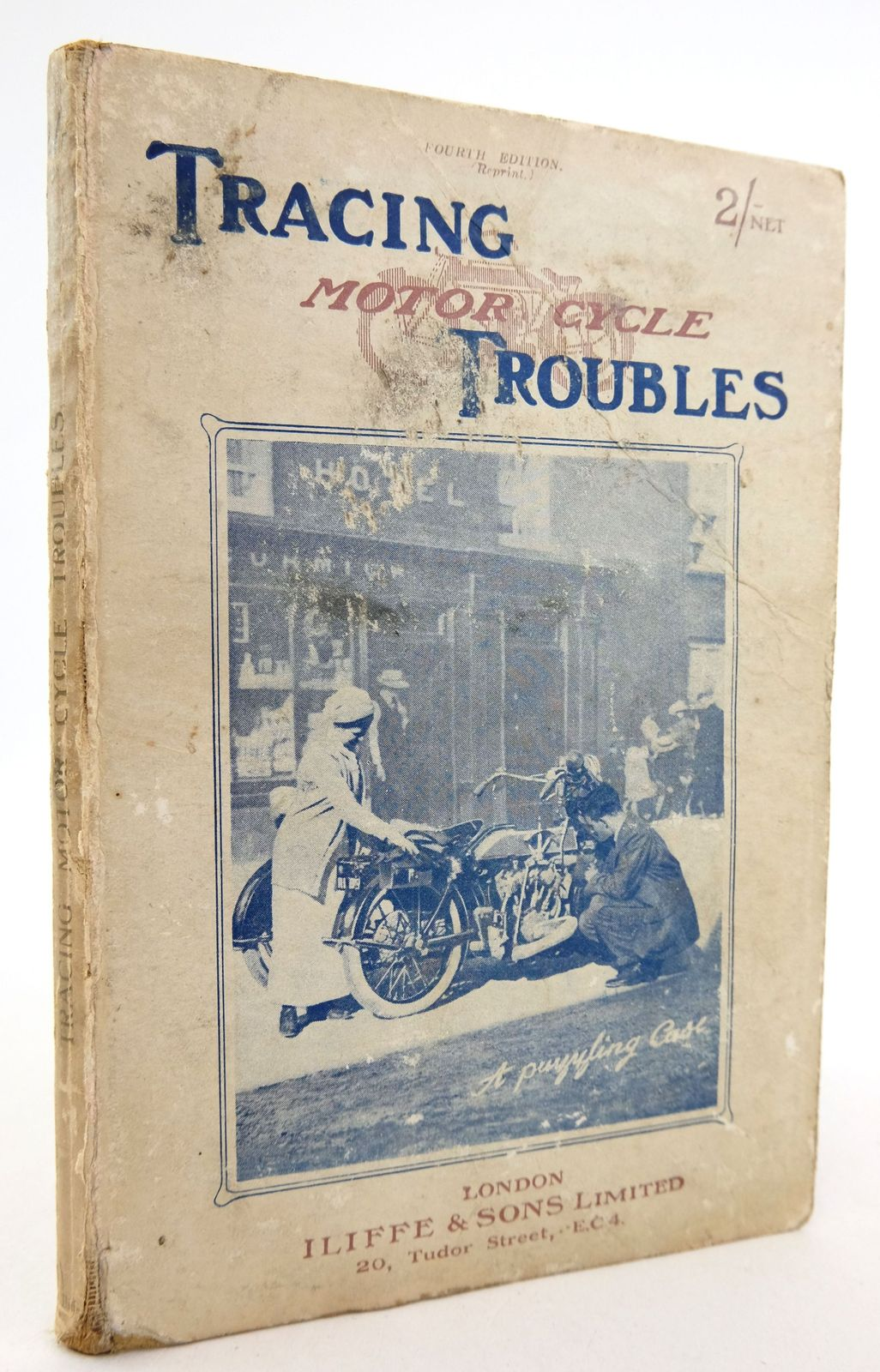 Photo of TRACING MOTOR CYCLE TROUBLES written by Road Rider, published by Iliffe & Sons Limited (STOCK CODE: 1819440)  for sale by Stella & Rose's Books