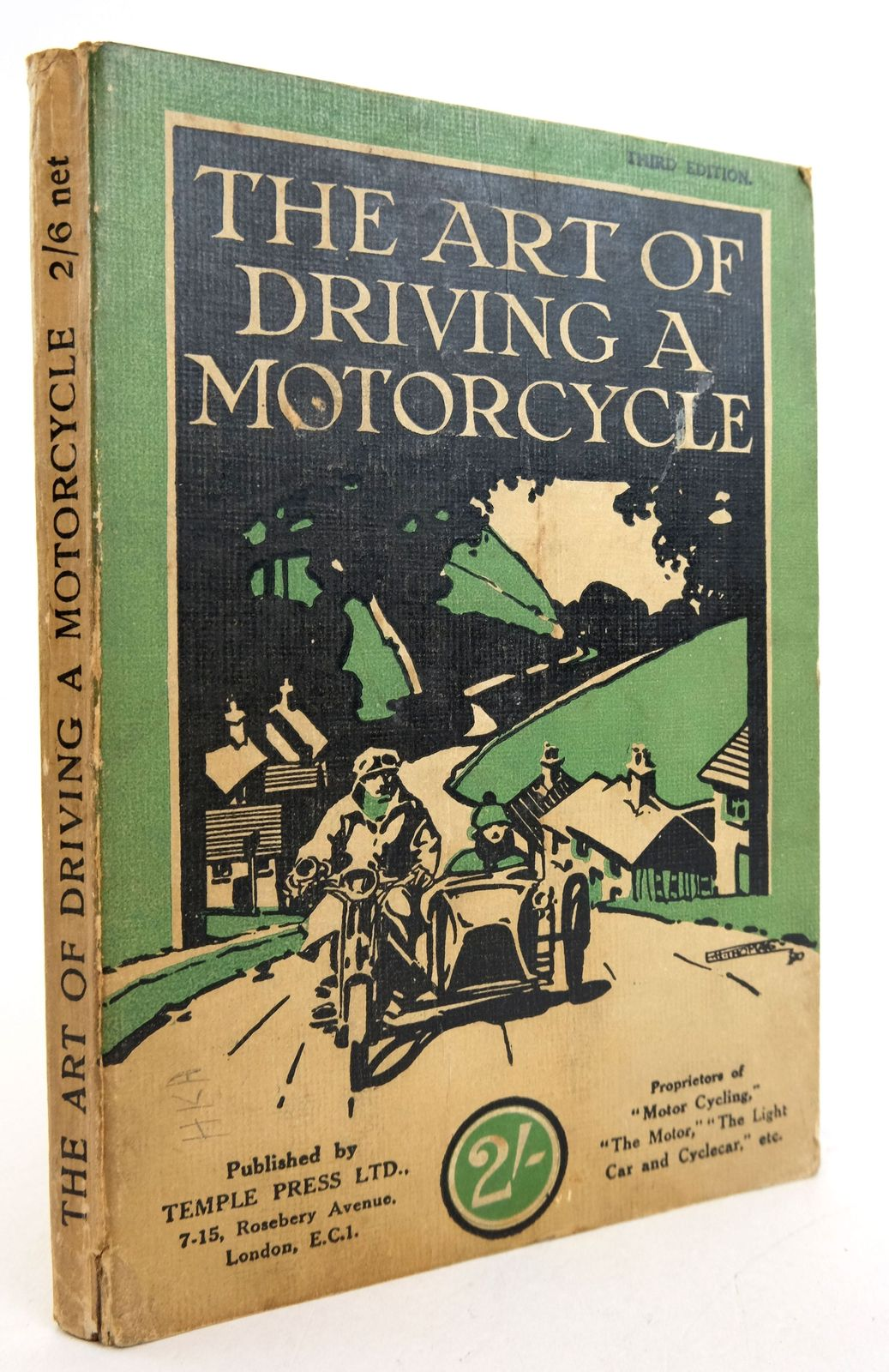 Photo of THE ART OF DRIVING A MOTORCYCLE published by Temple Press Limited (STOCK CODE: 1819444)  for sale by Stella & Rose's Books