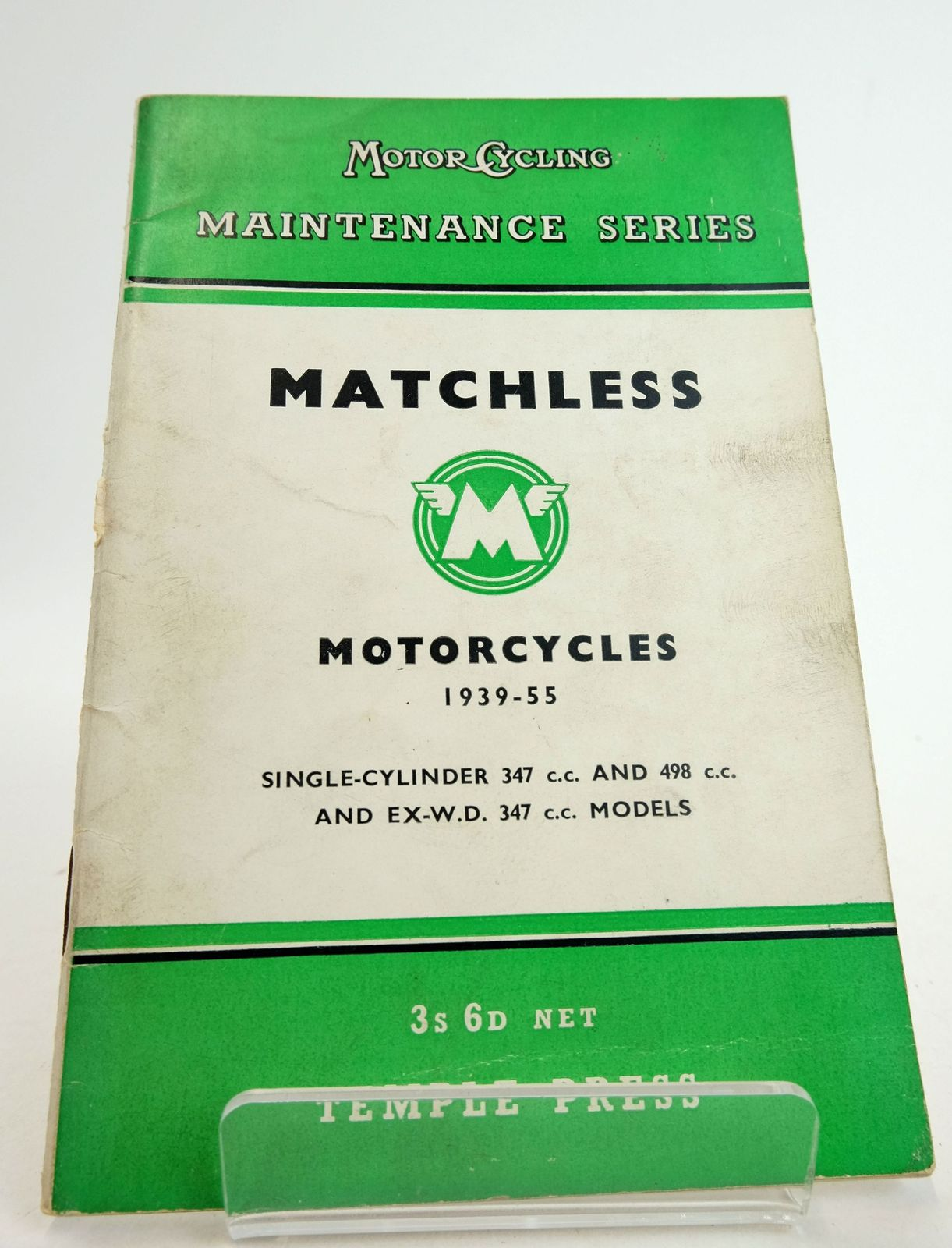 Photo of MATCHLESS MOTORCYCLES 1939-55 published by Temple Press Limited (STOCK CODE: 1819448)  for sale by Stella & Rose's Books