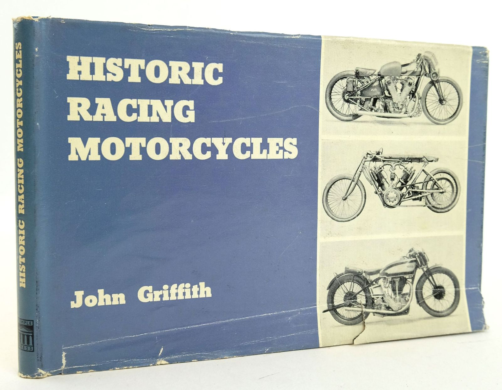 Photo of HISTORIC RACING MOTORCYCLES written by Griffith, John published by Temple Press Books (STOCK CODE: 1819452)  for sale by Stella & Rose's Books