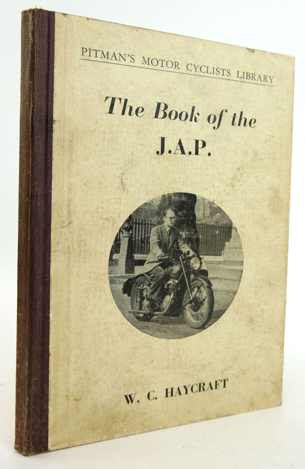 Photo of THE BOOK OF THE J.A.P. (PITMAN'S MOTOR CYCLISTS LIBRARY)- Stock Number: 1819454