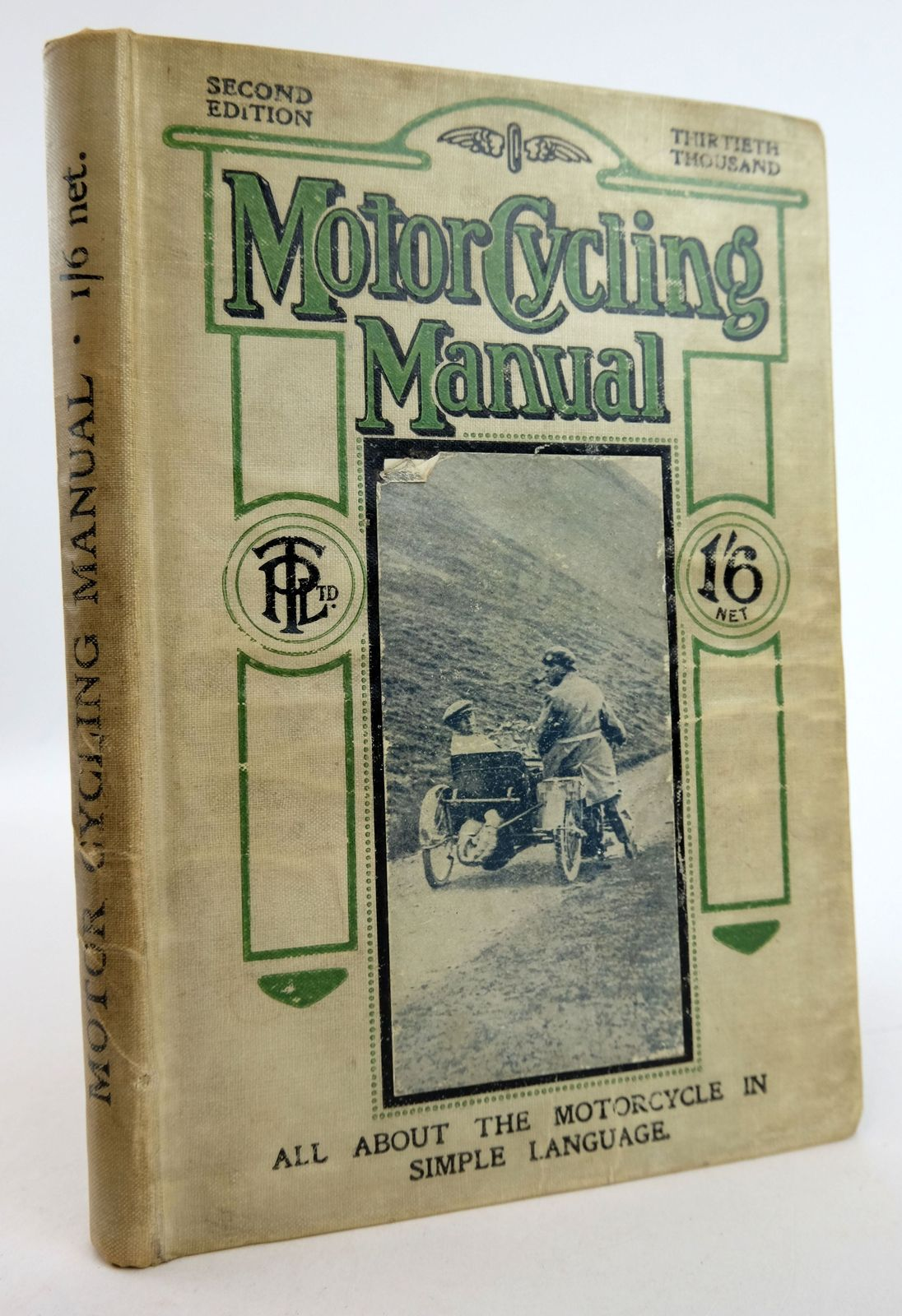 Photo of MOTOR CYCLING MANUAL- Stock Number: 1819458