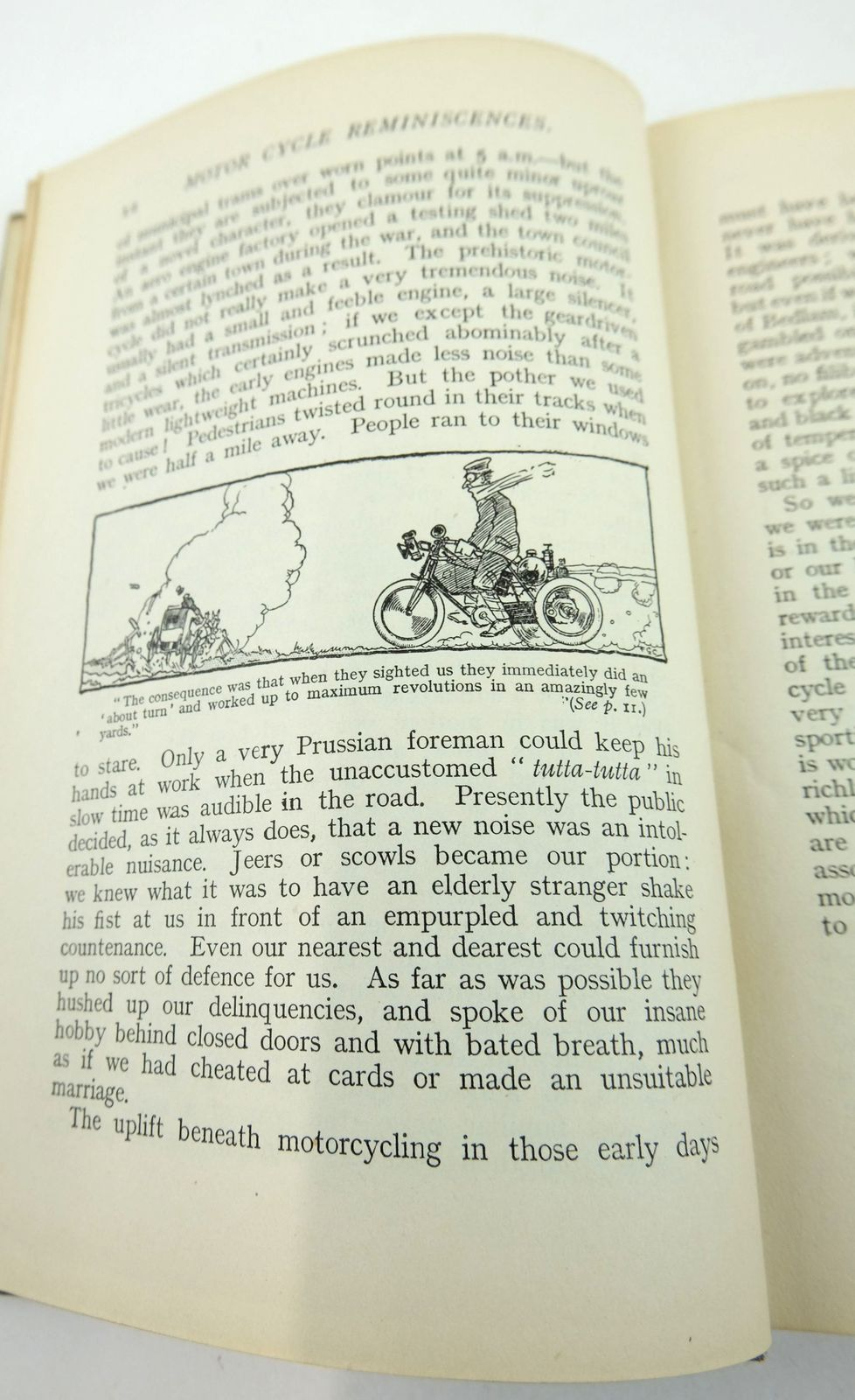 Photo of MOTOR CYCLE REMINISCENCES written by Ixion, published by Iliffe & Sons Limited (STOCK CODE: 1819460)  for sale by Stella & Rose's Books