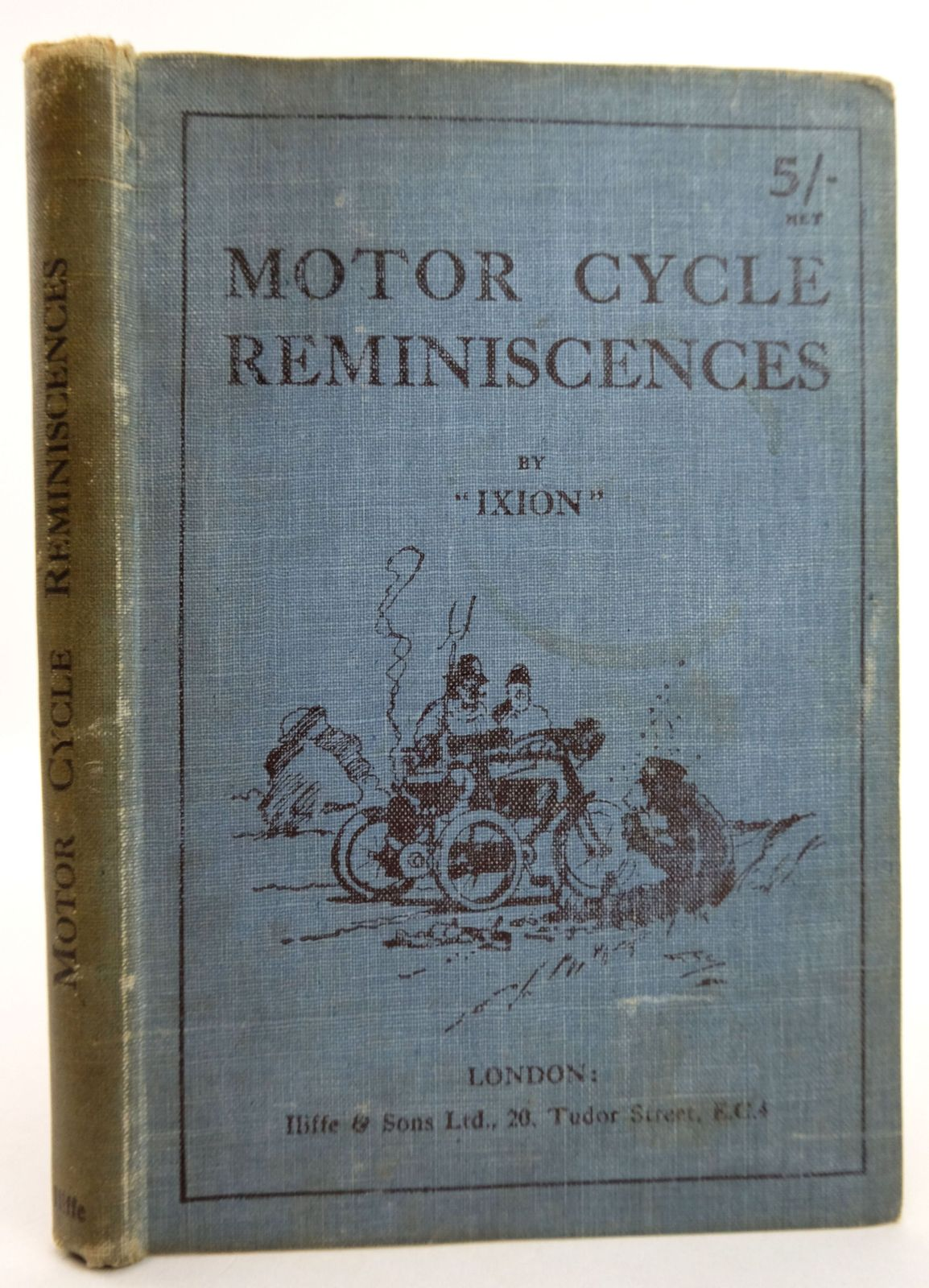 Photo of MOTOR CYCLE REMINISCENCES- Stock Number: 1819464