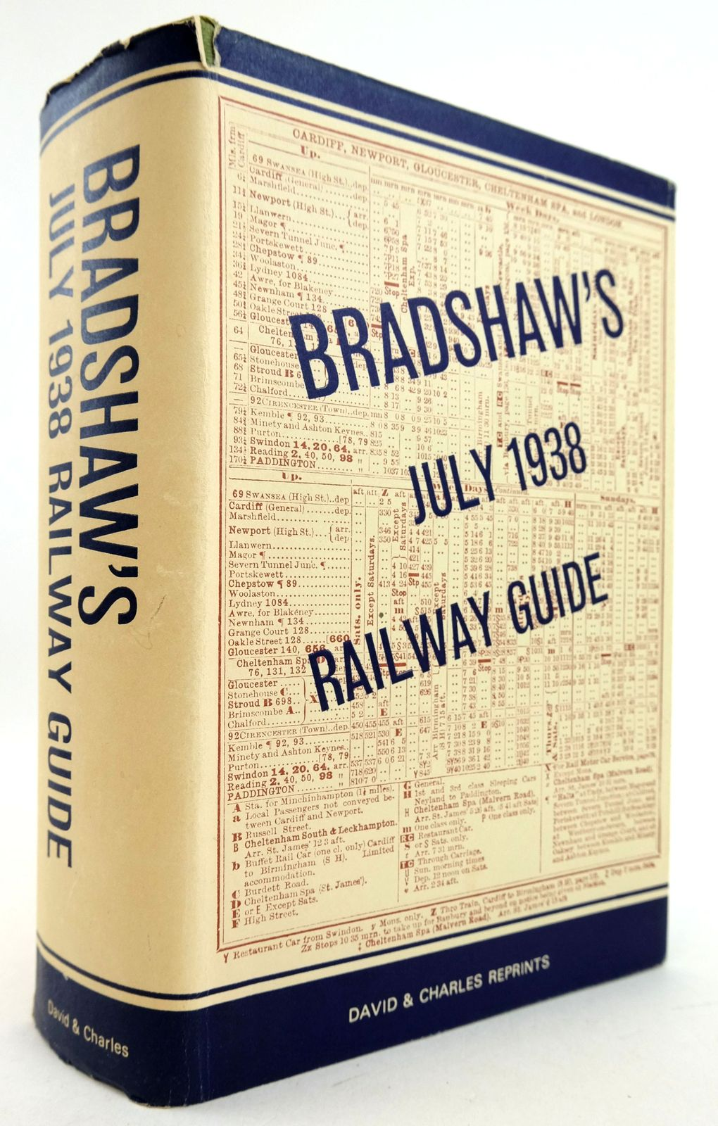 Photo of BRADSHAW'S JULY 1938 RAILWAY GUIDE- Stock Number: 1819489