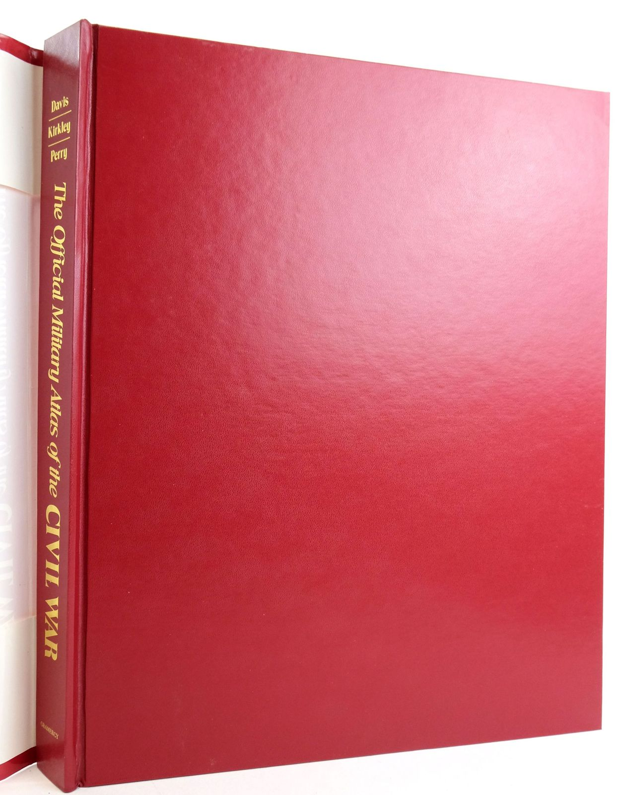 Photo of THE OFFICIAL MILITARY ATLAS OF THE CIVIL WAR written by Davis, George B.