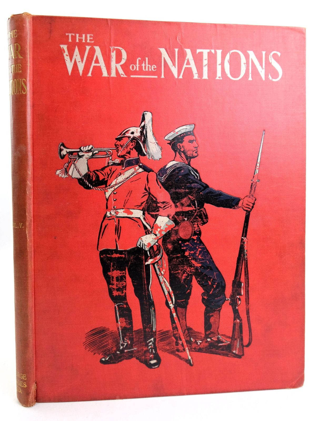 Photo of THE WAR OF THE NATIONS: A HISTORY OF THE GREAT EUROPEAN CONFLICT VOL. V- Stock Number: 1819504