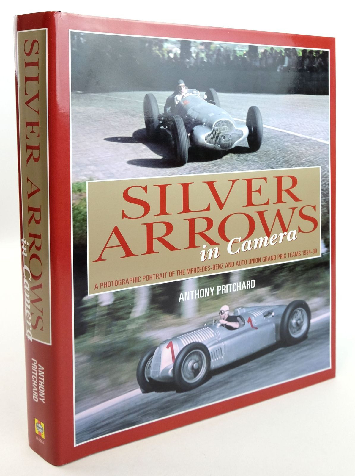 Photo of SILVER ARROWS IN CAMERA written by Pritchard, Anthony published by Haynes Publishing Group (STOCK CODE: 1819509)  for sale by Stella & Rose's Books