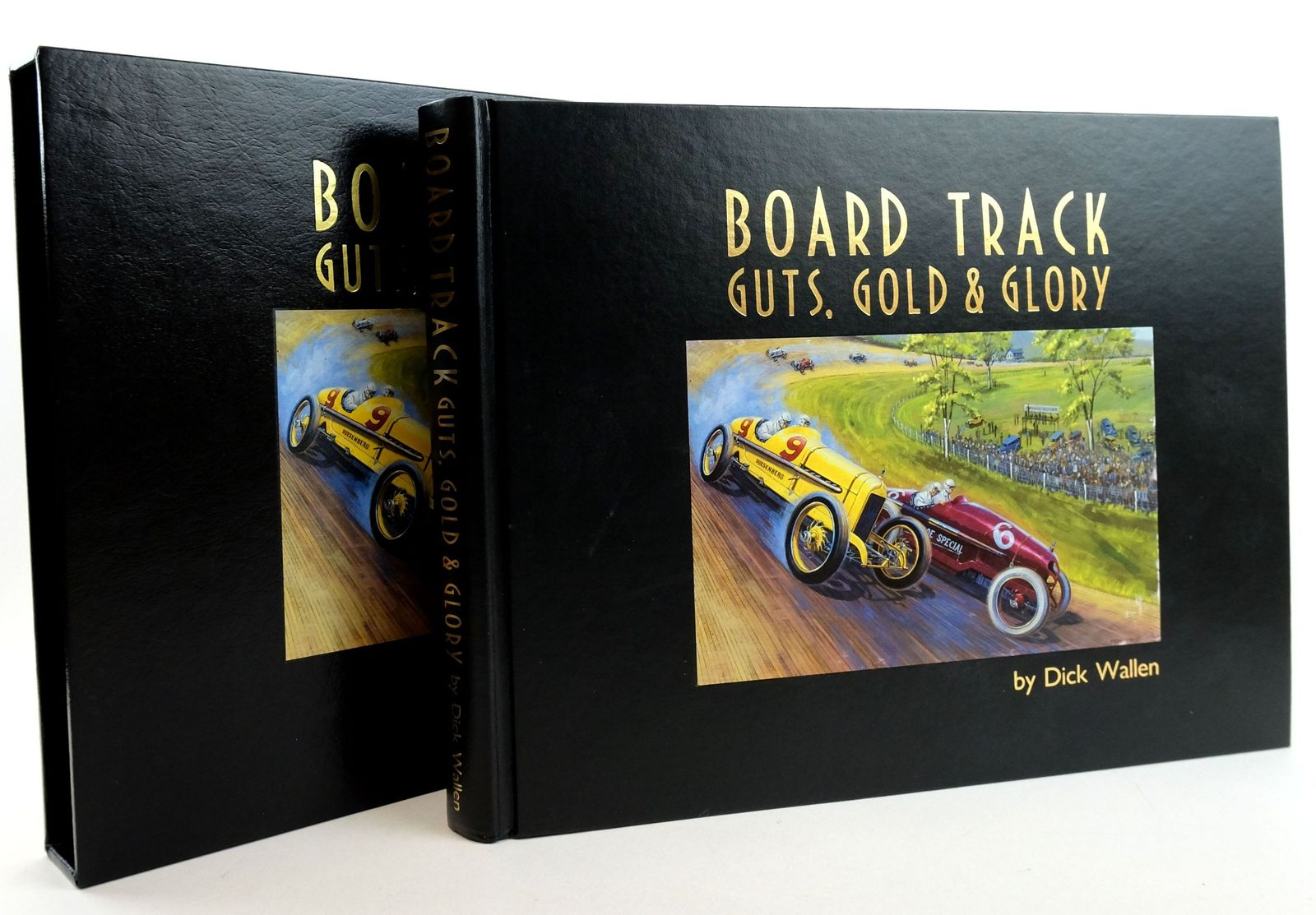 Photo of BOARD TRACK GUTS, GOLD & GLORY