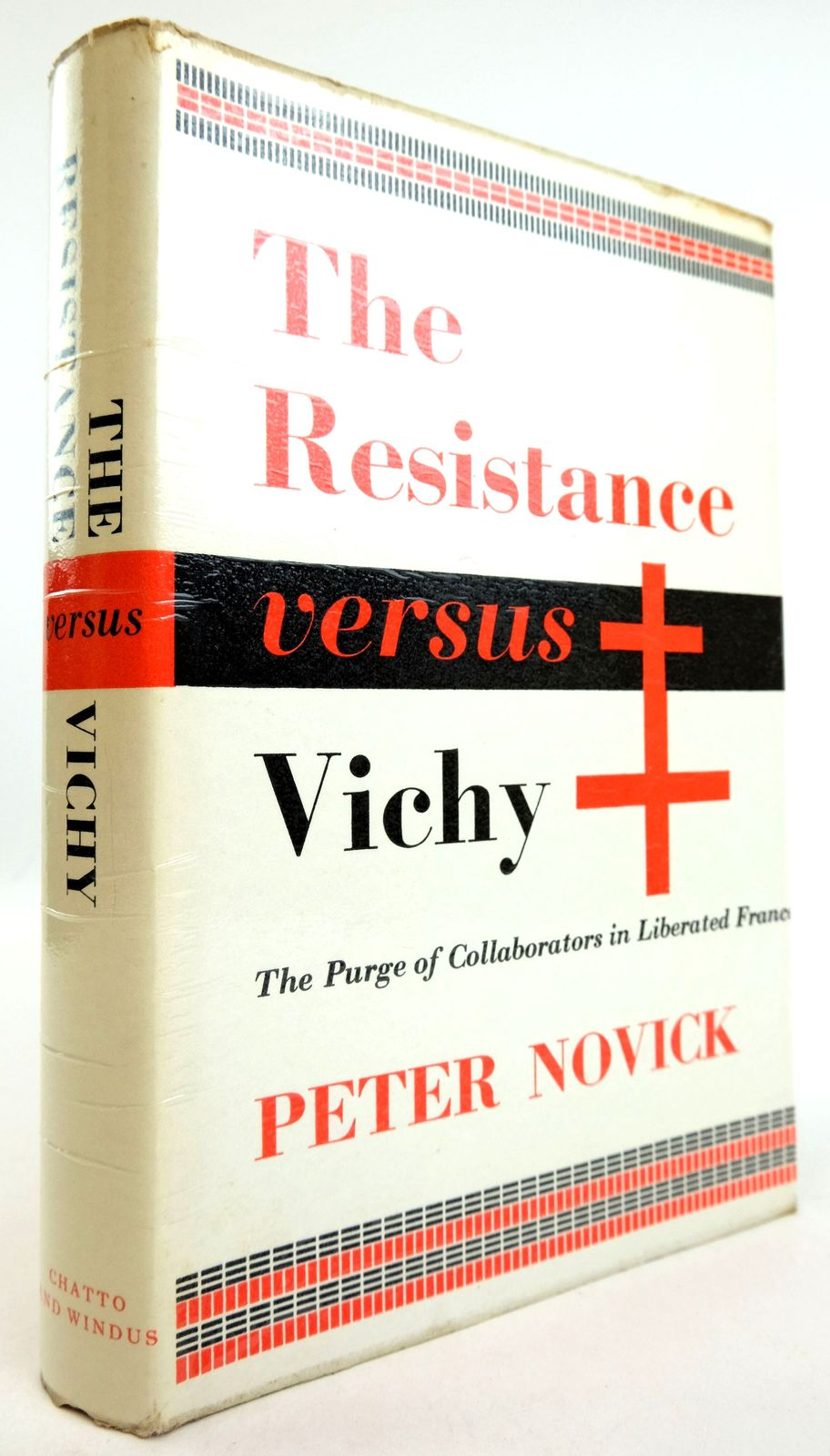 Photo of THE RESISTANCE VERSUS VICHY: THE PURGE OF COLLABORATORS IN LIBERATED FRANCE- Stock Number: 1819521