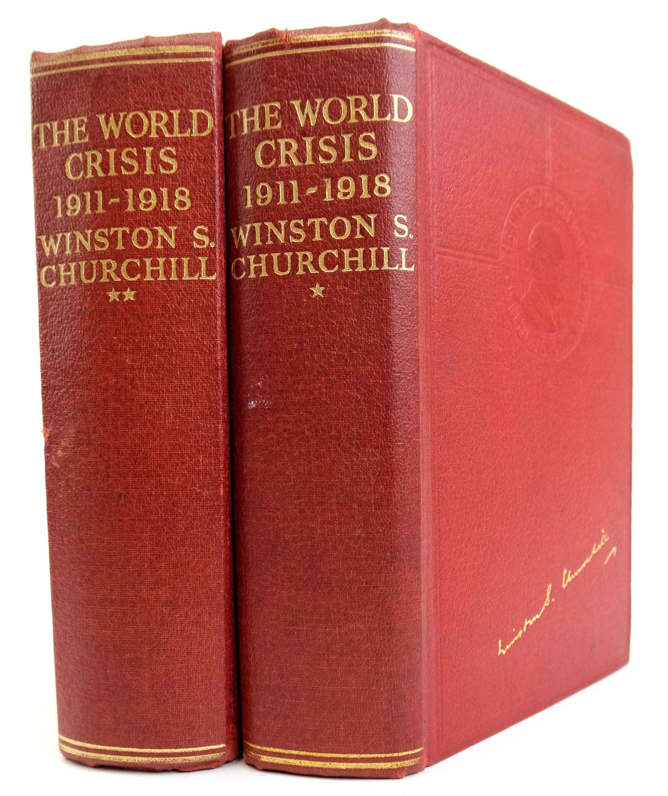 Photo of THE WORLD CRISIS 1911-1918 (2 VOLUMES) written by Churchill, Winston S. published by Odhams Press (STOCK CODE: 1819525)  for sale by Stella & Rose's Books