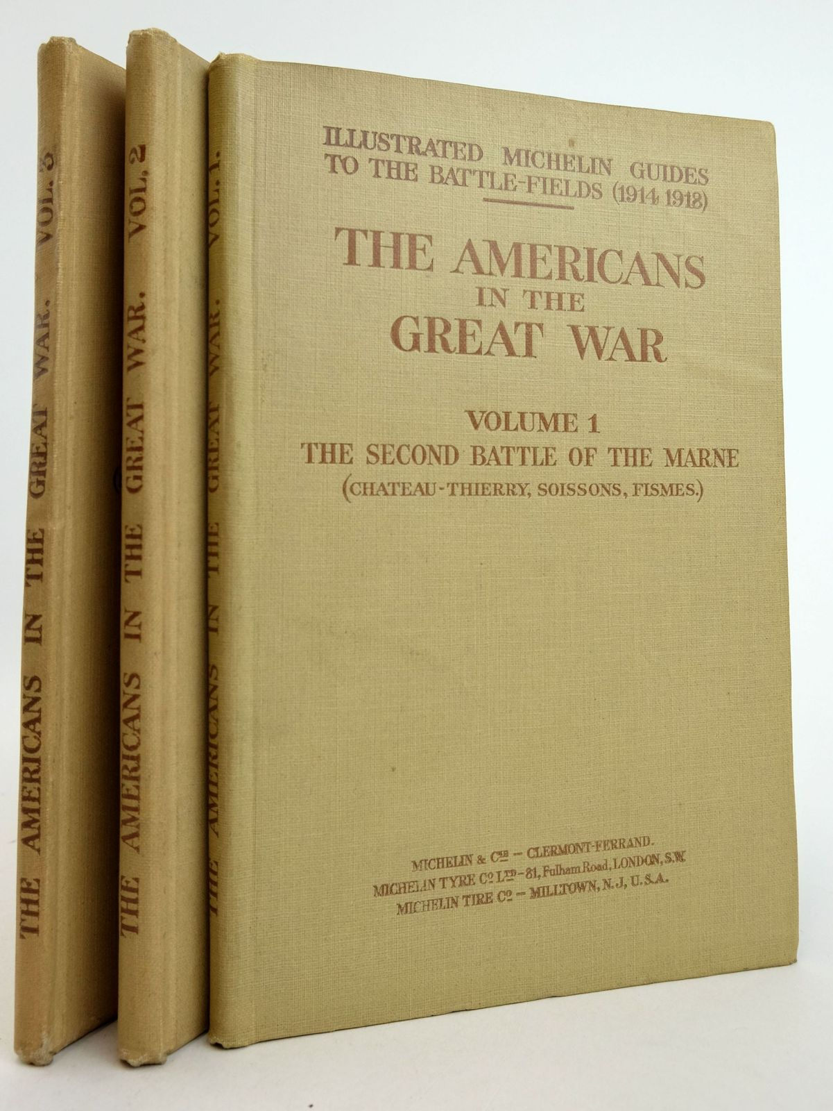 Photo of THE AMERICANS IN THE GREAT WAR (3 VOLUMES) published by Michelin & Cie (STOCK CODE: 1819527)  for sale by Stella & Rose's Books