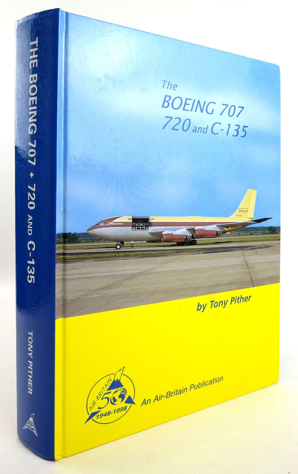 Photo of THE BOEING 707 720 AND C-135 written by Pither, Tony published by Air-Britain (Historians) Ltd. (STOCK CODE: 1819546)  for sale by Stella & Rose's Books