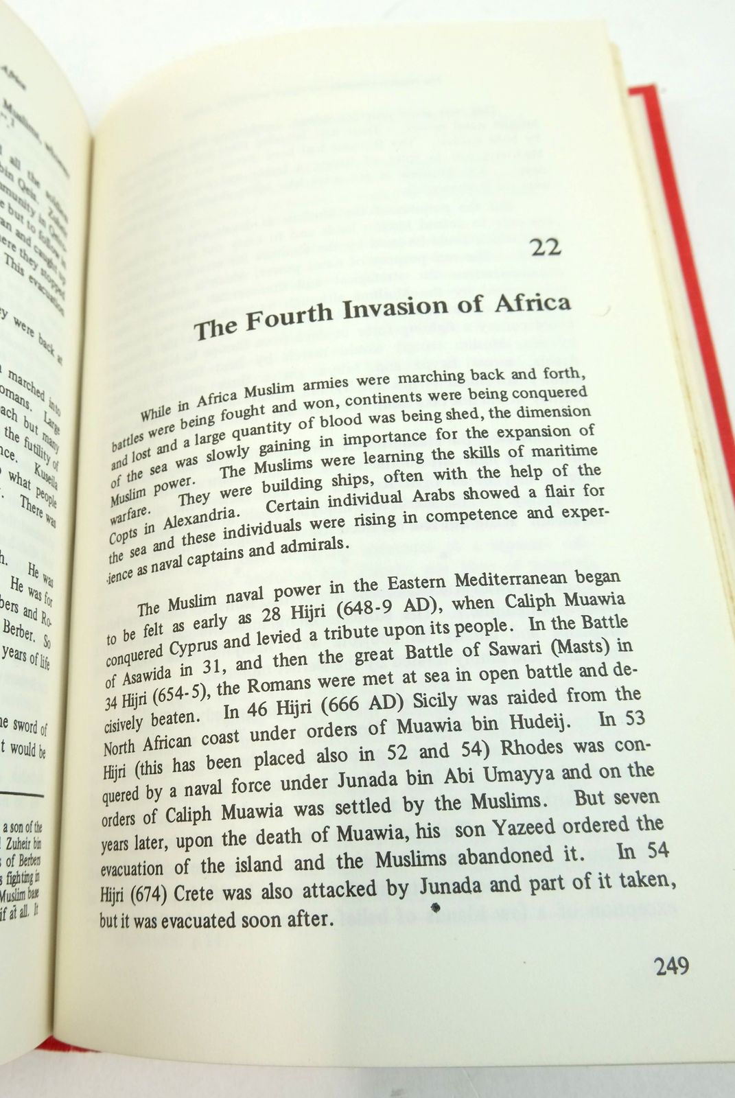 Photo of THE MUSLIM CONQUEST OF EGYPT AND NORTH AFRICA written by Akram, A.I. published by Ferozsons Ltd. (STOCK CODE: 1819554)  for sale by Stella & Rose's Books