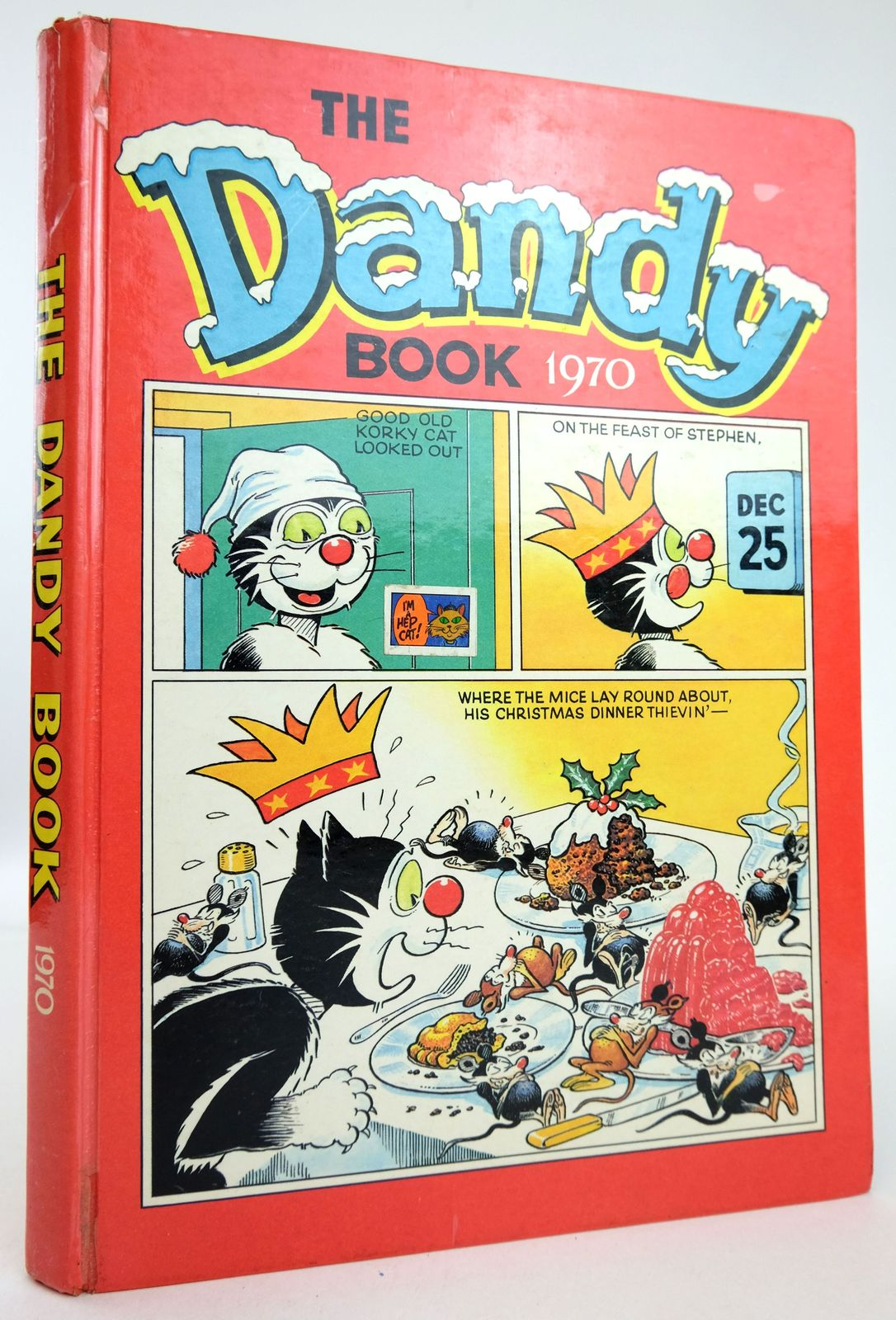 Photo of THE DANDY BOOK 1970 published by D.C. Thomson & Co Ltd. (STOCK CODE: 1819563)  for sale by Stella & Rose's Books