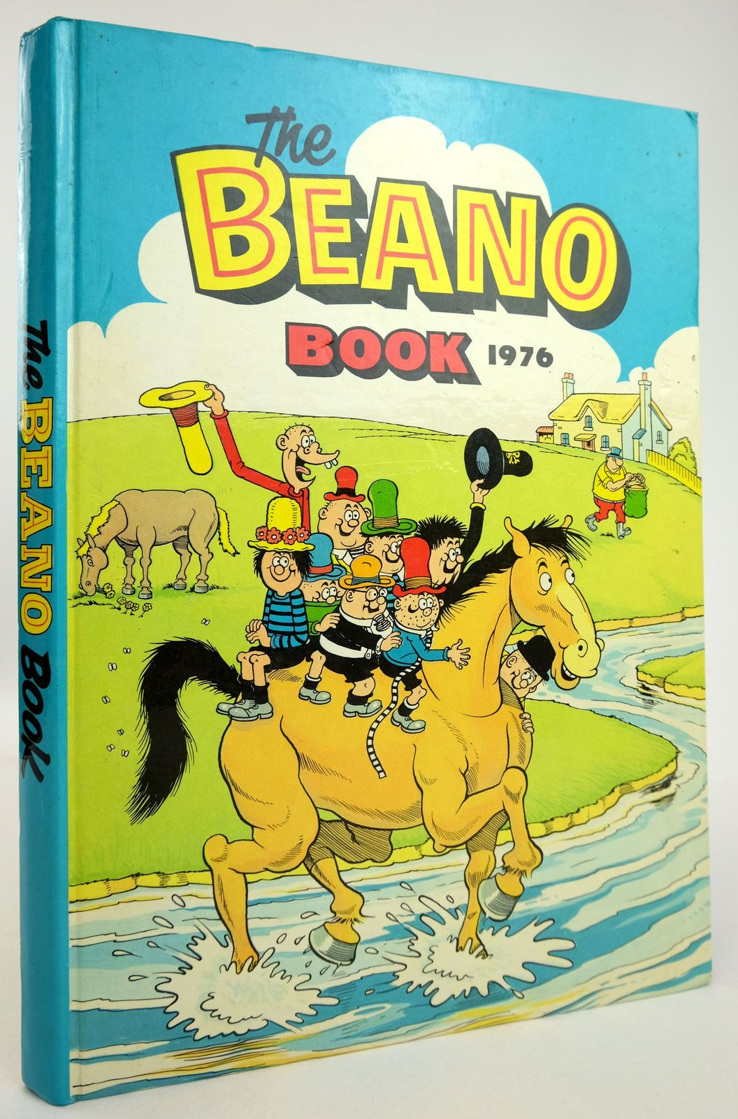 Photo of THE BEANO BOOK 1976 published by D.C. Thomson & Co Ltd. (STOCK CODE: 1819567)  for sale by Stella & Rose's Books