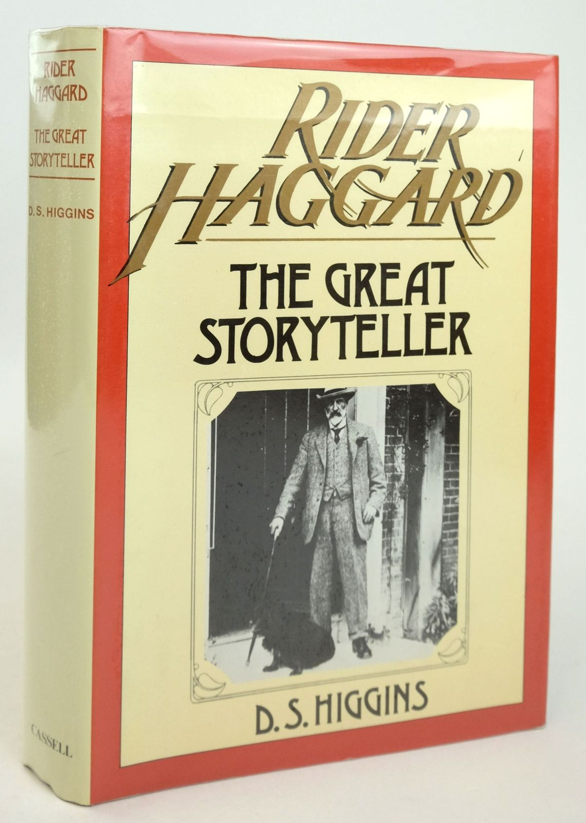 Photo of RIDER HAGGARD: THE GREAT STORYTELLER written by Higgins, D.S. published by Cassell (STOCK CODE: 1819583)  for sale by Stella & Rose's Books