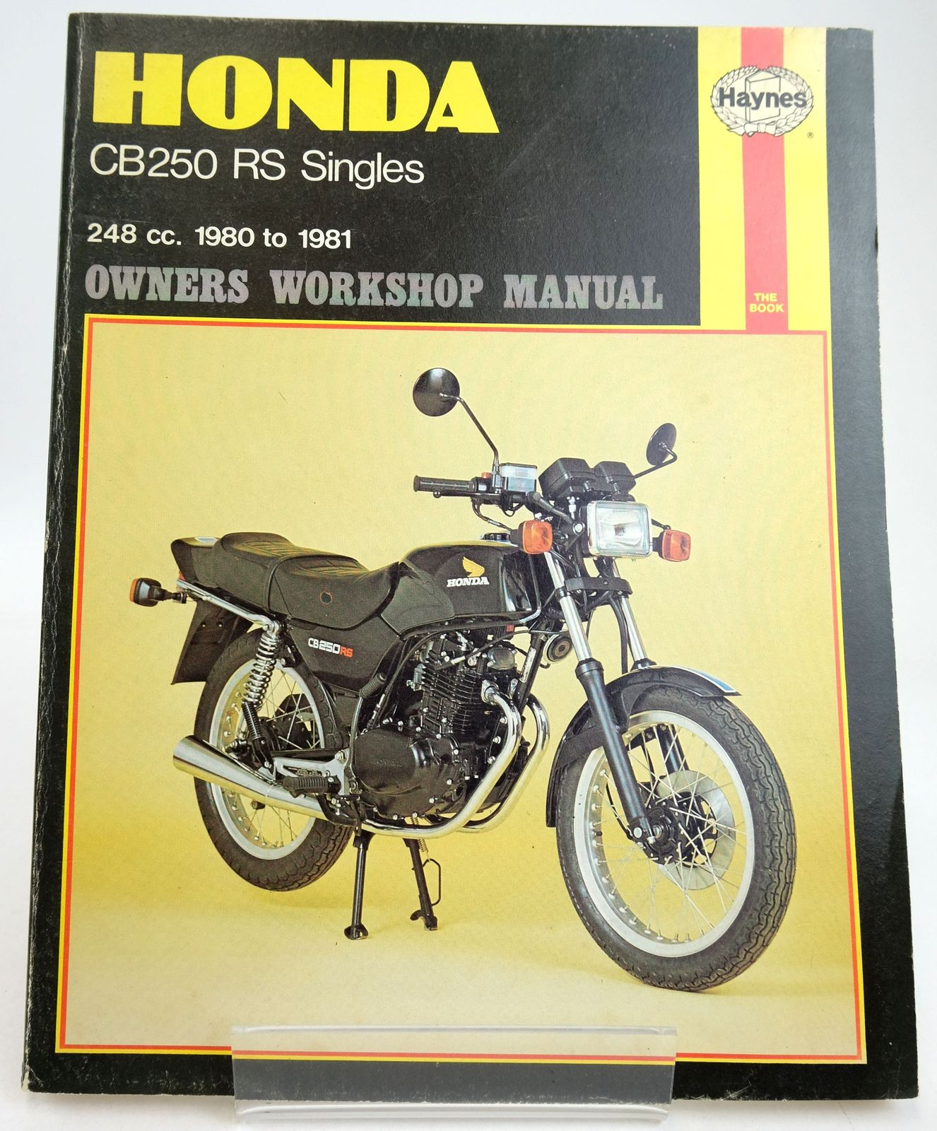 Photo of HONDA CB250 RS OWNERS WORKSHOP MANUAL- Stock Number: 1819593