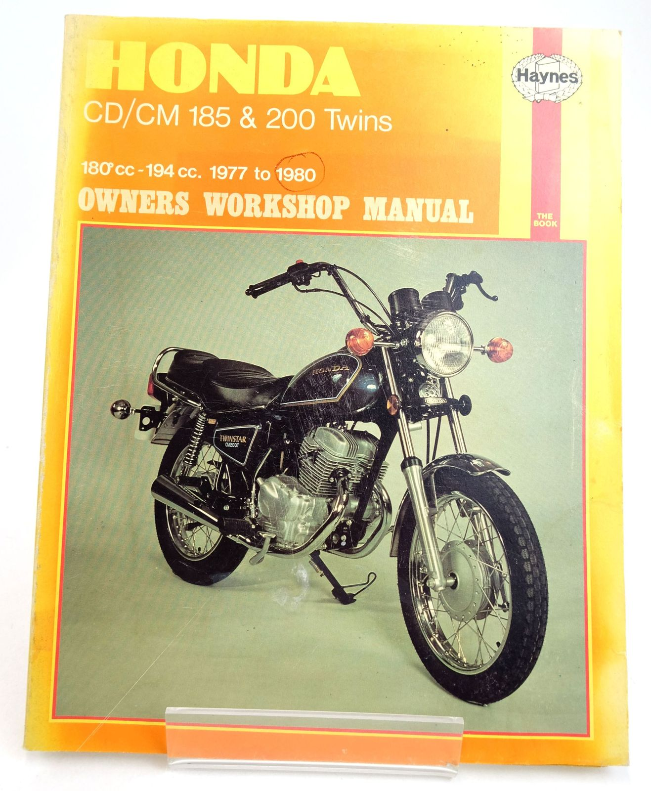 Photo of HONDA CD185/200 AND CM185/200 OWNERS WORKSHOP MANUAL- Stock Number: 1819594