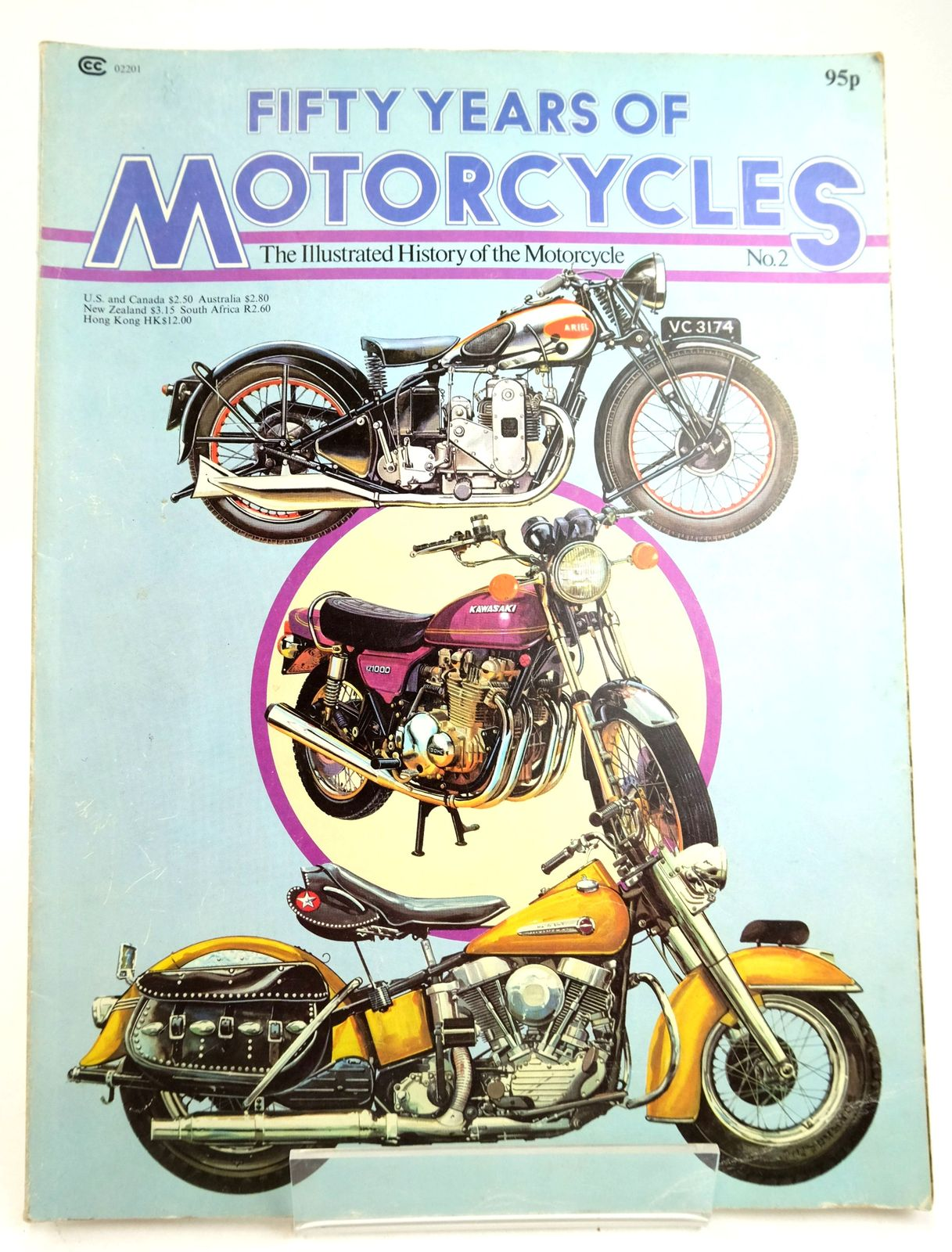 Photo of FIFTY YEARS OF MOTORCYCLES written by Posthumus, Cyril Richmond, Dave published by Phoebus (STOCK CODE: 1819596)  for sale by Stella & Rose's Books