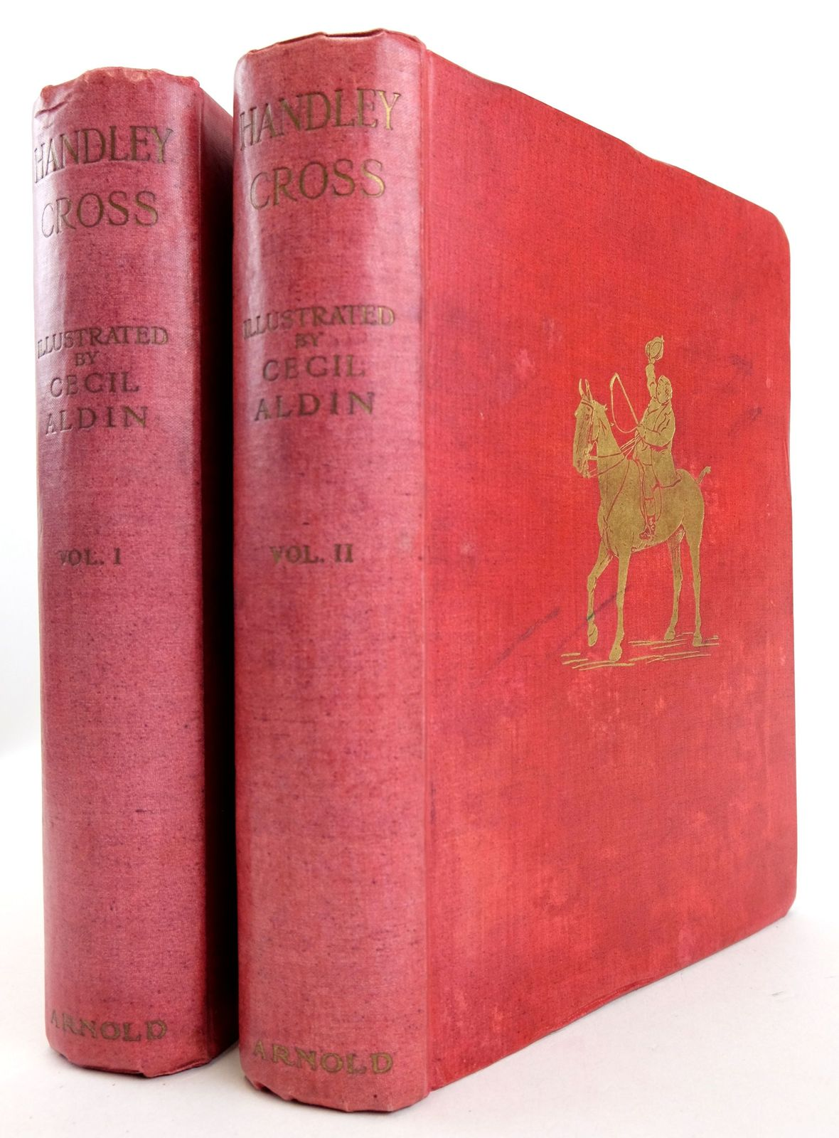 Photo of HANDLEY CROSS OR MR JORROCKS'S HUNT (2 VOLUMES)- Stock Number: 1819645