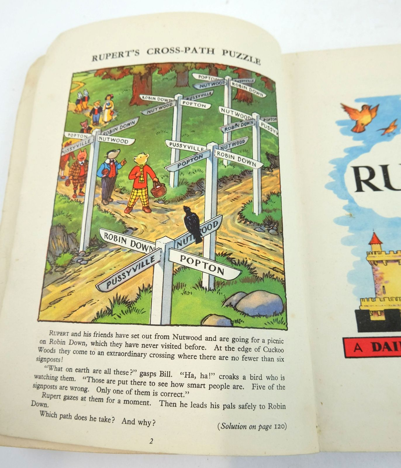 Photo of RUPERT ANNUAL 1946 - THE NEW RUPERT BOOK written by Bestall, Alfred illustrated by Bestall, Alfred published by Daily Express (STOCK CODE: 1819653)  for sale by Stella & Rose's Books