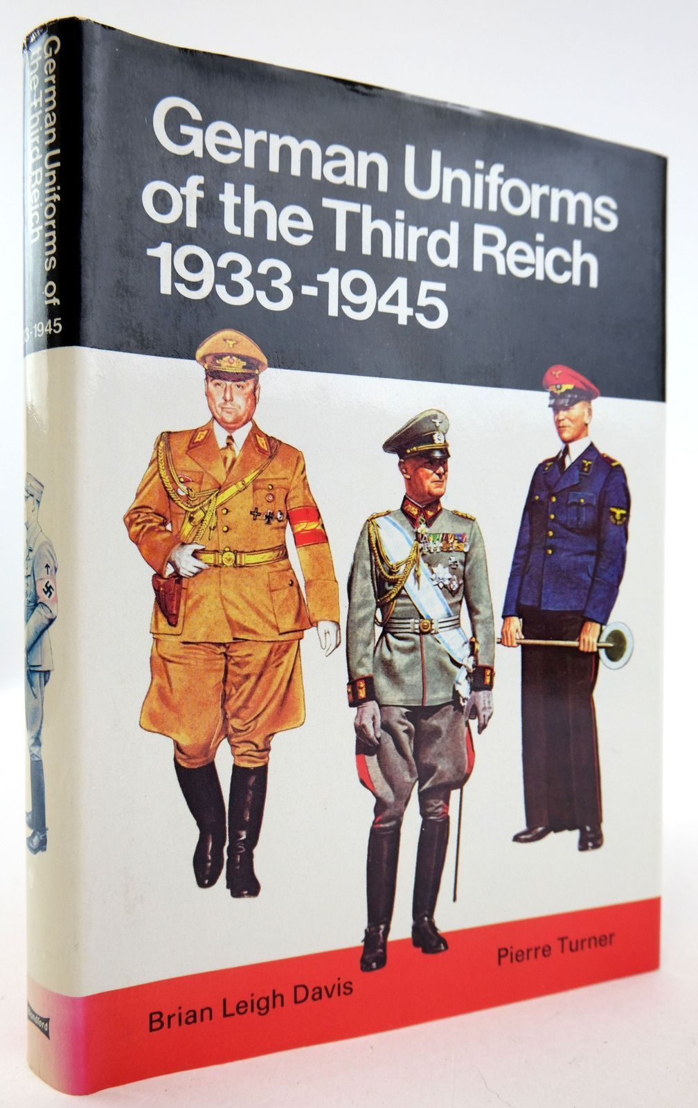 Photo of GERMAN UNIFORMS OF THE THIRD REICH 1933-1945 IN COLOUR written by Davis, Brian L. illustrated by Turner, Pierre published by Blandford Press (STOCK CODE: 1819660)  for sale by Stella & Rose's Books