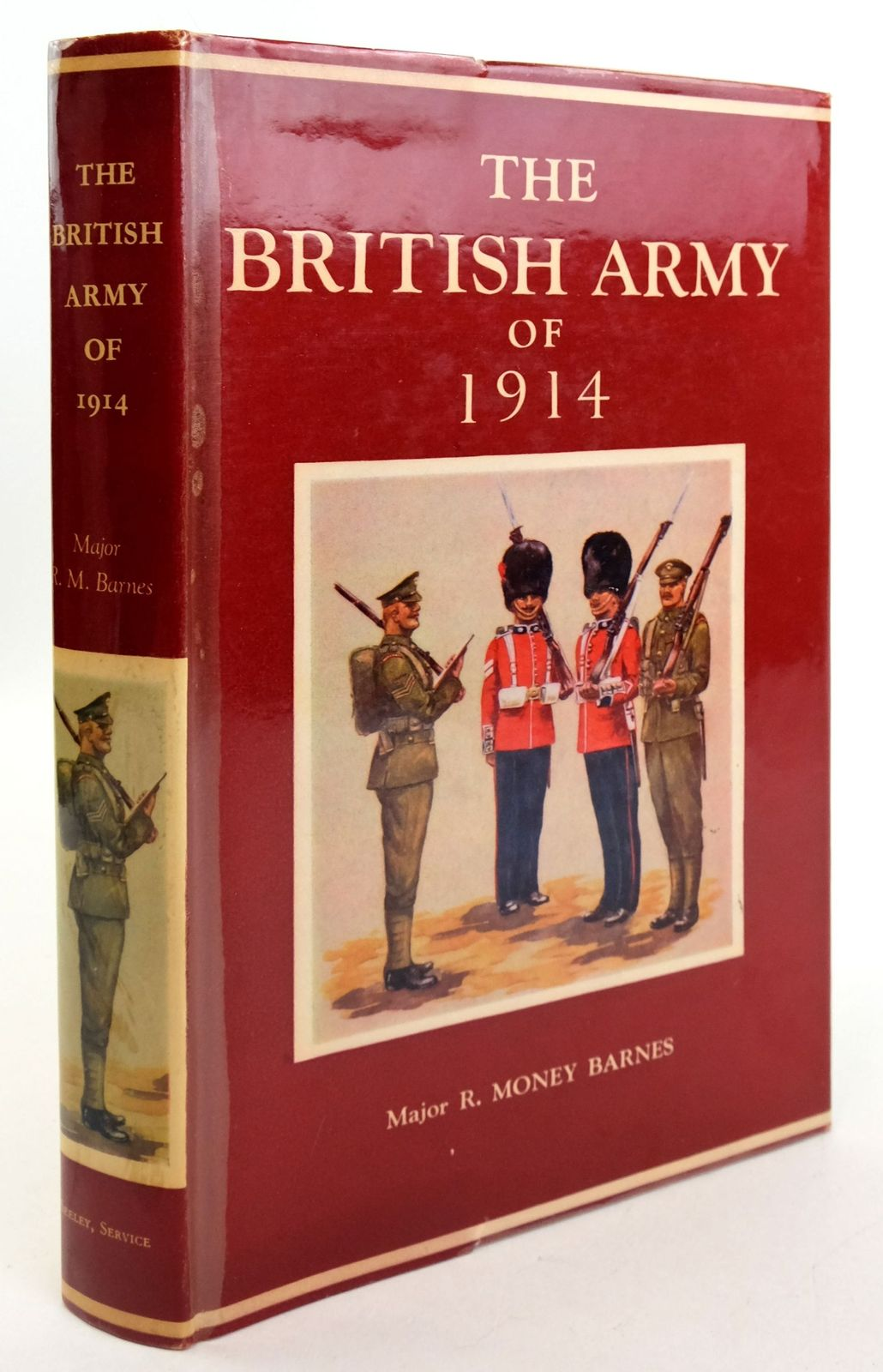 Photo of THE BRITISH ARMY OF 1914: ITS HISTORY, UNIFORMS & CONTEMPORARY CONTINENTAL ARMIES- Stock Number: 1819662