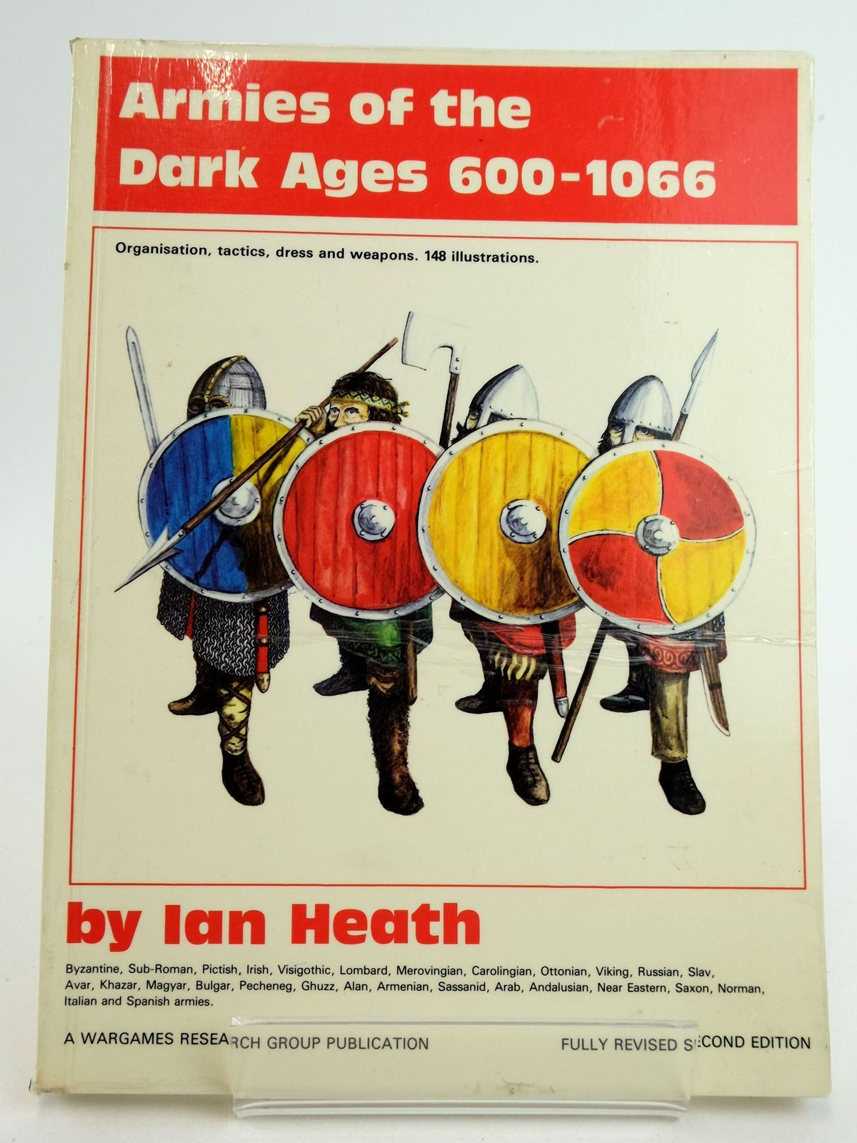Photo of ARMIES OF THE DARK AGES 600-1066 written by Heath, Ian published by Wargames Research Group (STOCK CODE: 1819671)  for sale by Stella & Rose's Books