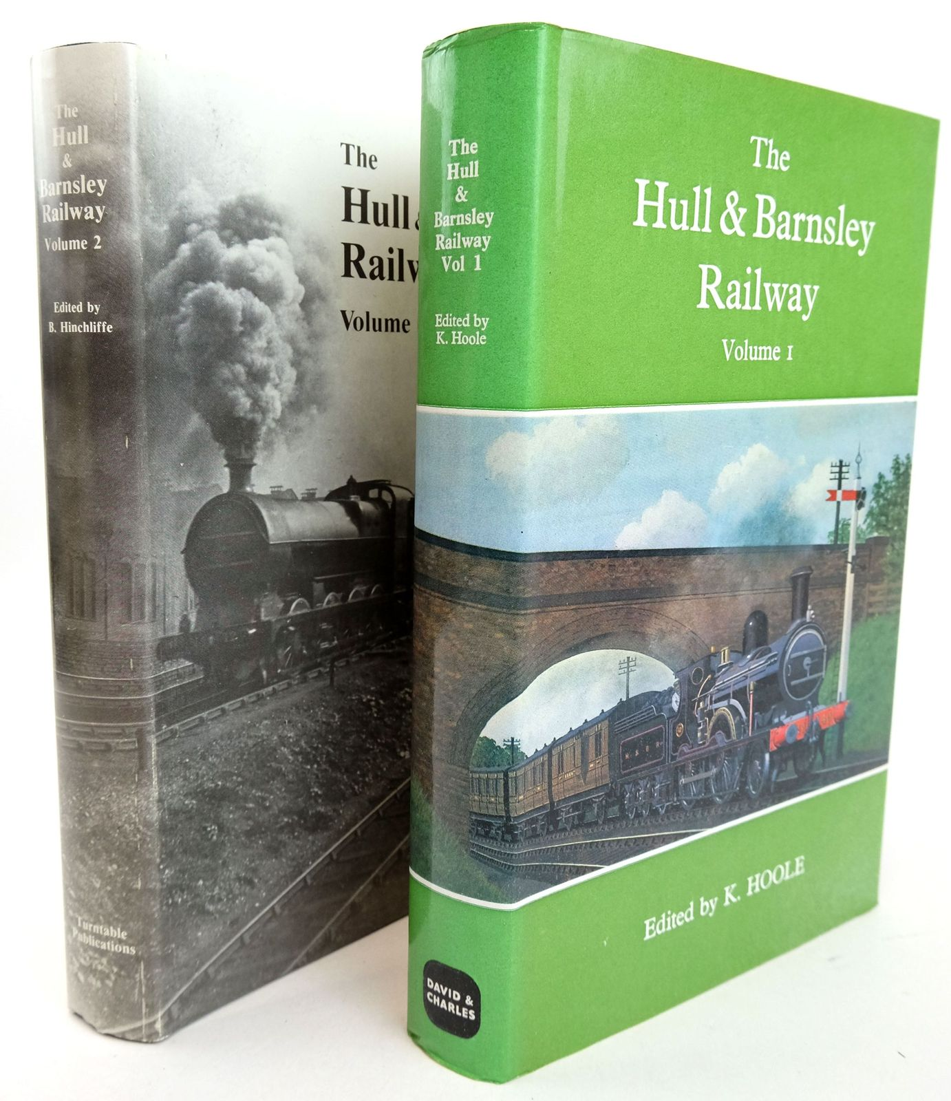 Photo of THE HULL & BARNSLEY RAILWAY (2 VOLUMES)- Stock Number: 1819687