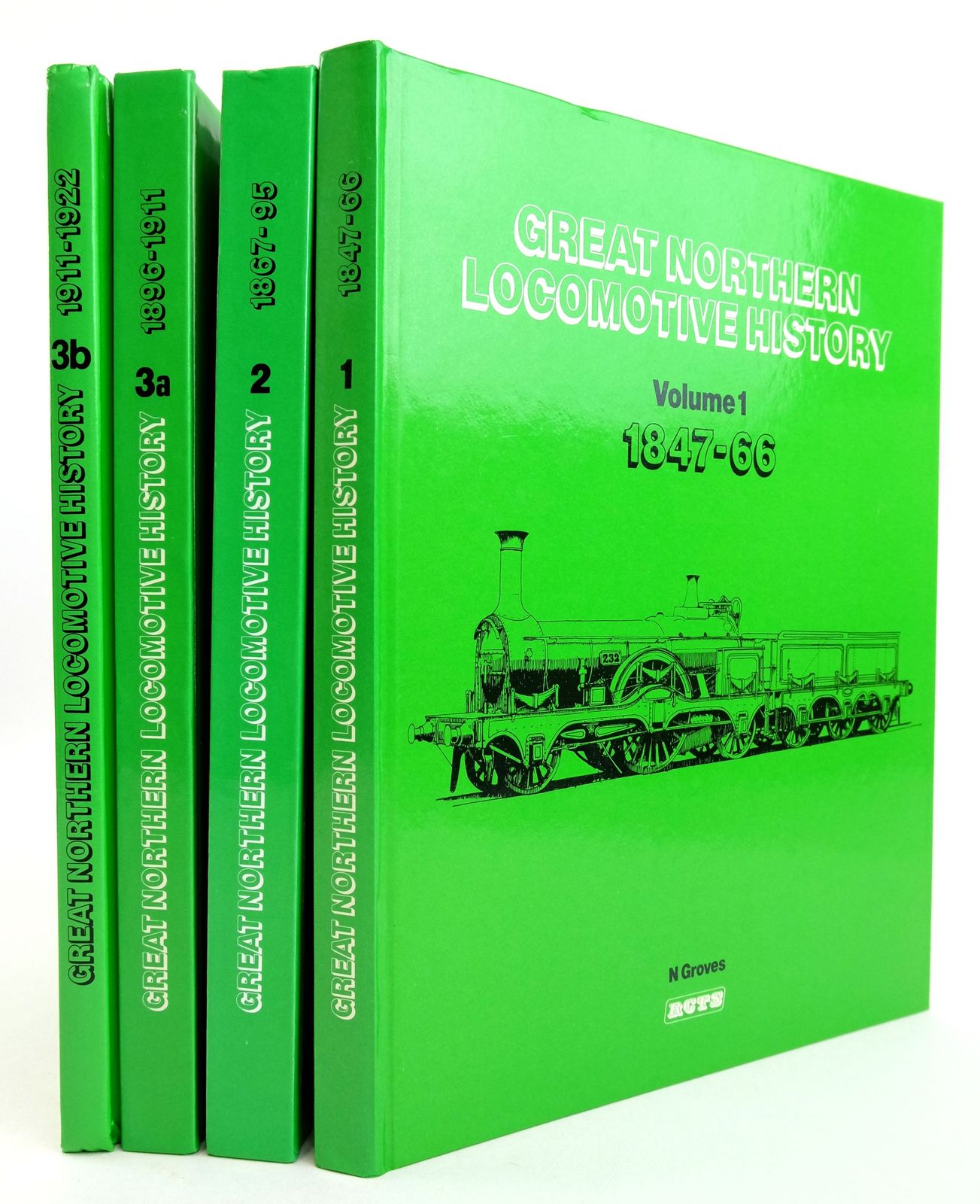 Photo of GREAT NORTHERN LOCOMOTIVE HISTORY (4 VOLUMES)- Stock Number: 1819690