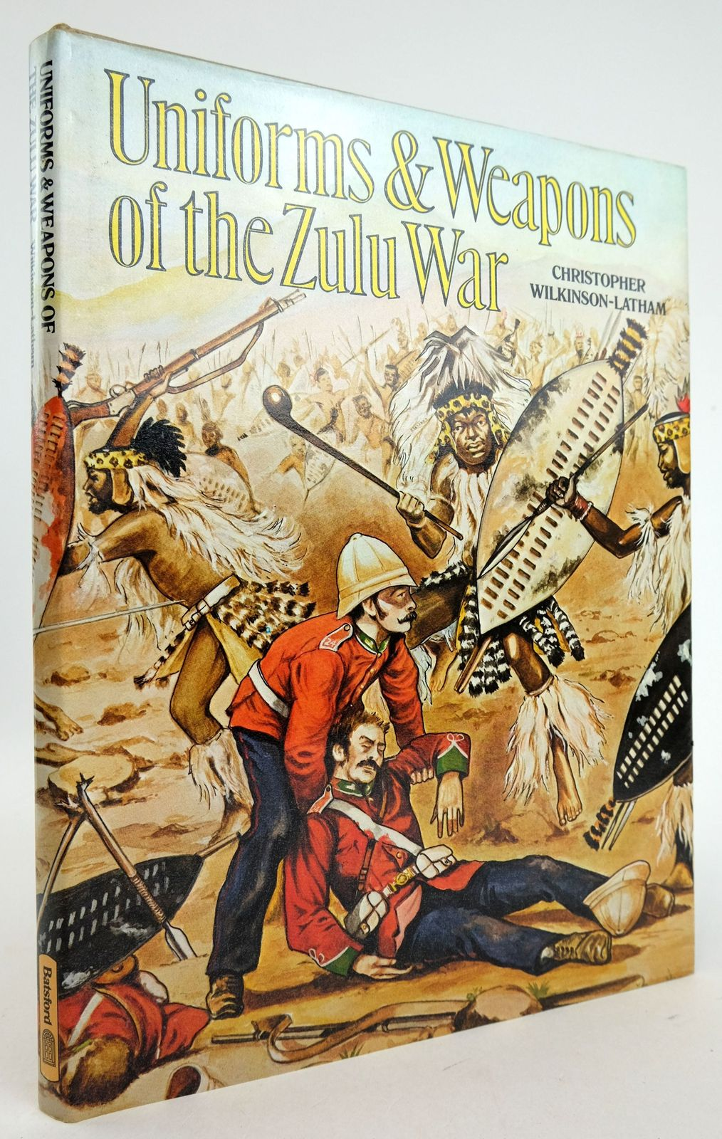 Photo of UNIFORMS & WEAPONS OF THE ZULU WAR written by Wilkinson-Latham, Christopher published by B.T. Batsford (STOCK CODE: 1819703)  for sale by Stella & Rose's Books