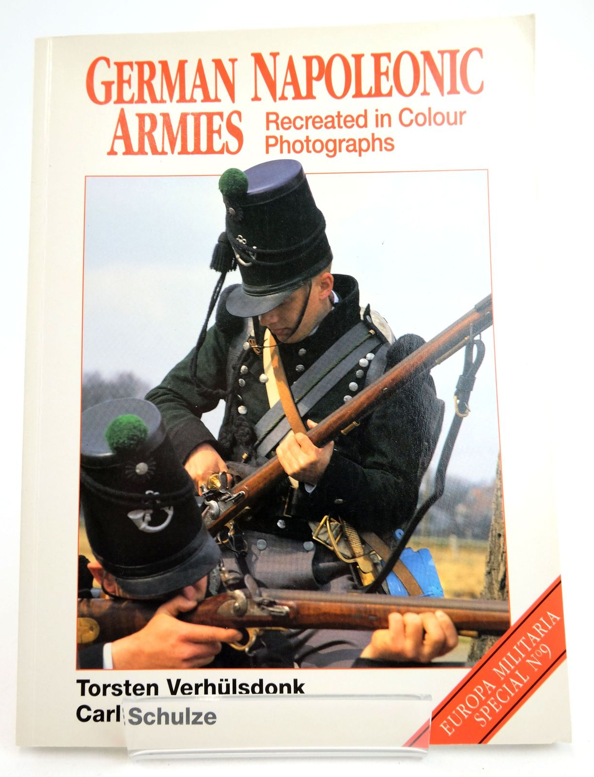 Photo of GERMAN NAPOLEONIC ARMIES: RECREATED IN COLOUR PHOTOGRAPHS- Stock Number: 1819712