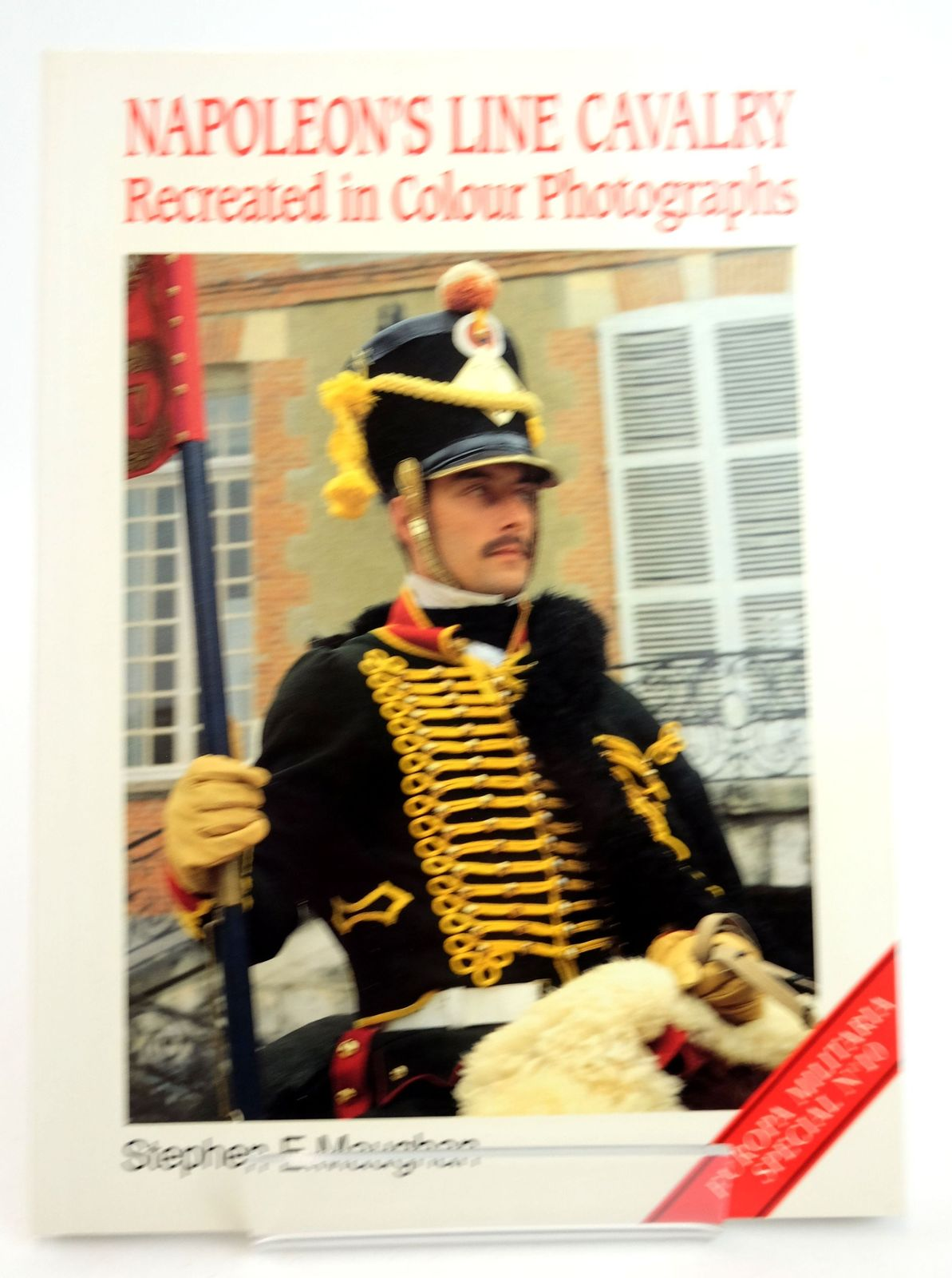 Photo of NAPOLEON'S LINE CAVALRY: RECREATED IN COLOUR PHOTOGRAPHS written by Maughan, Stephen E. published by Windrow & Greene (STOCK CODE: 1819713)  for sale by Stella & Rose's Books