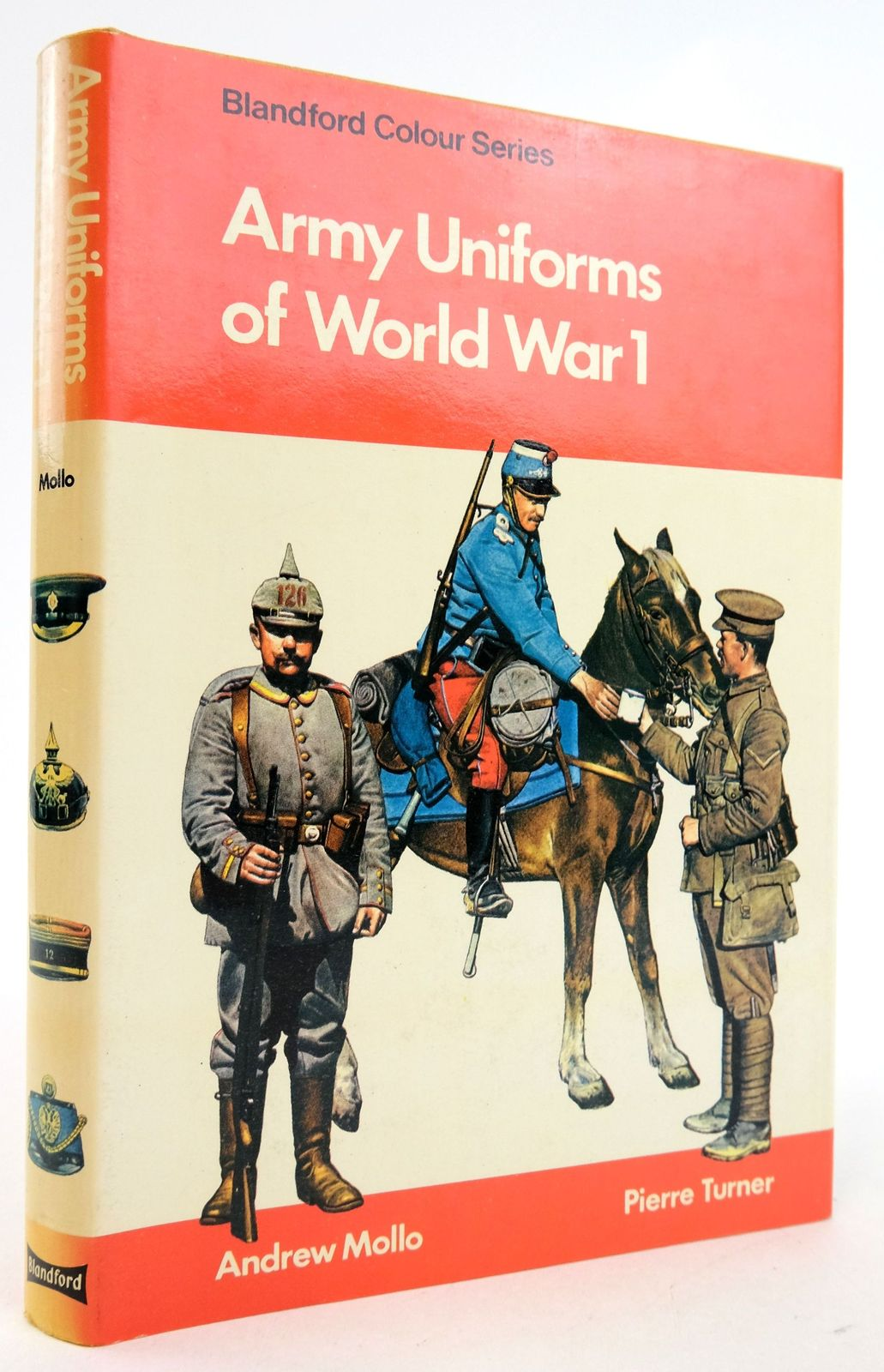 Photo of ARMY UNIFORMS OF WORLD WAR I (BLANDFORD COLOUR SERIES)- Stock Number: 1819716
