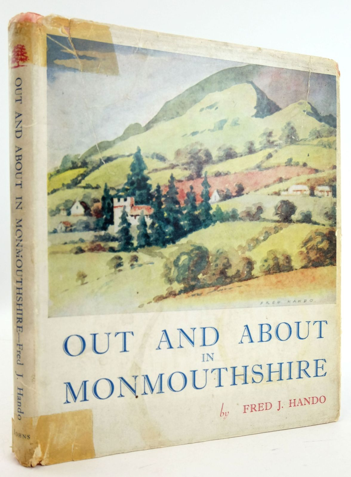Photo of OUT AND ABOUT IN MONMOUTHSHIRE written by Hando, Fred J. illustrated by Hando, Fred J. published by R.H. Johns Limited (STOCK CODE: 1819748)  for sale by Stella & Rose's Books