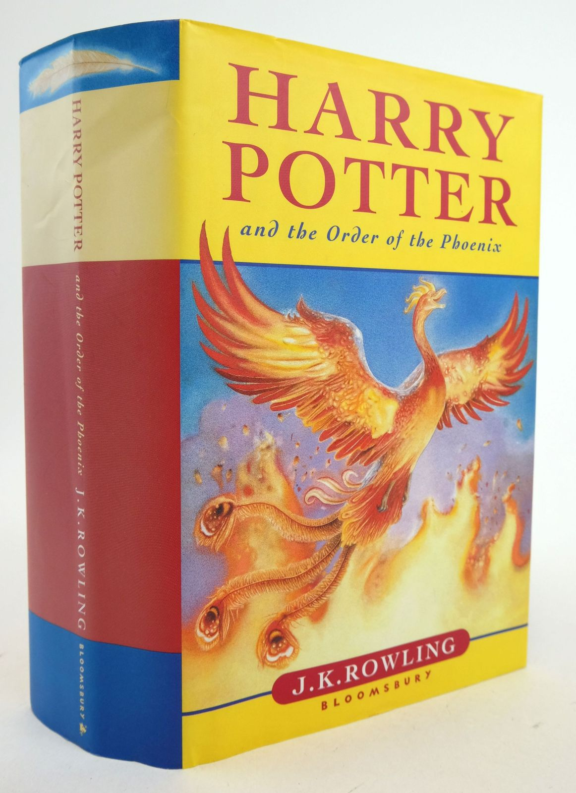 Photo of HARRY POTTER AND THE ORDER OF THE PHOENIX written by Rowling, J.K. published by Bloomsbury (STOCK CODE: 1819765)  for sale by Stella & Rose's Books