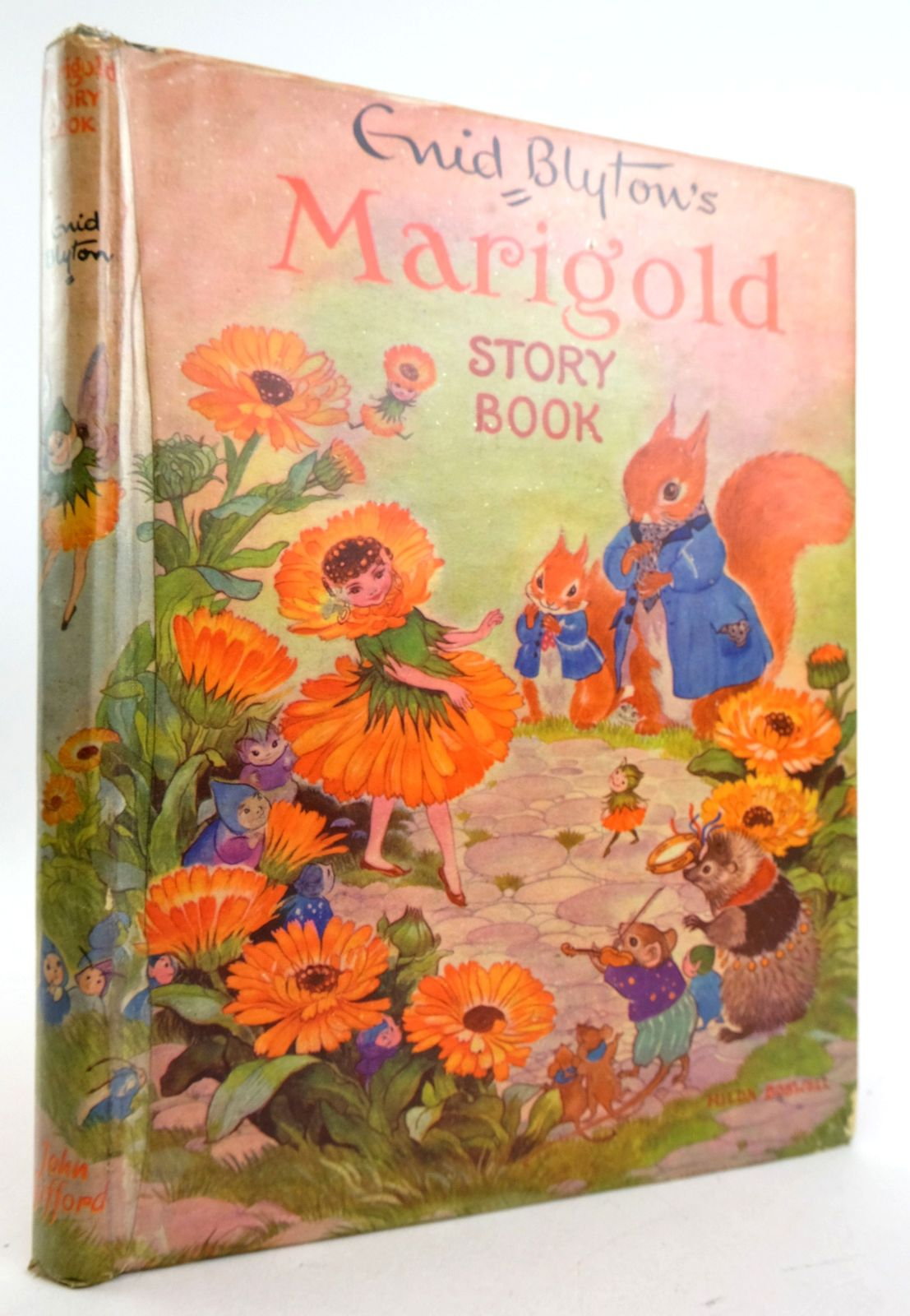 Photo of ENID BLYTON'S MARIGOLD STORY BOOK written by Blyton, Enid illustrated by Boswell, Hilda Hall, Dorothy et al.,  published by John Gifford Ltd. (STOCK CODE: 1819780)  for sale by Stella & Rose's Books
