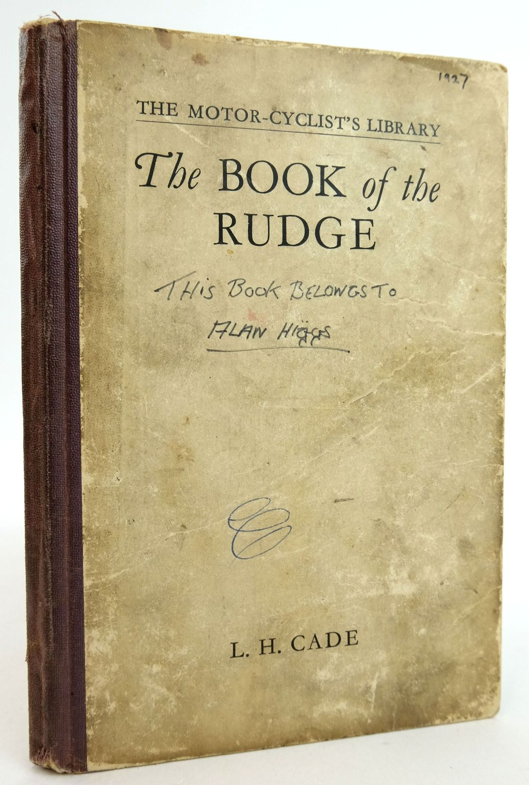 Photo of THE BOOK OF THE RUDGE- Stock Number: 1819808
