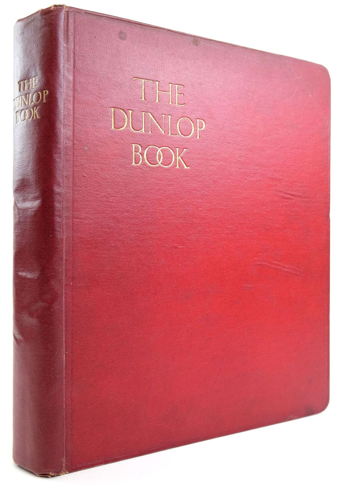 Photo of THE DUNLOP BOOK- Stock Number: 1819816